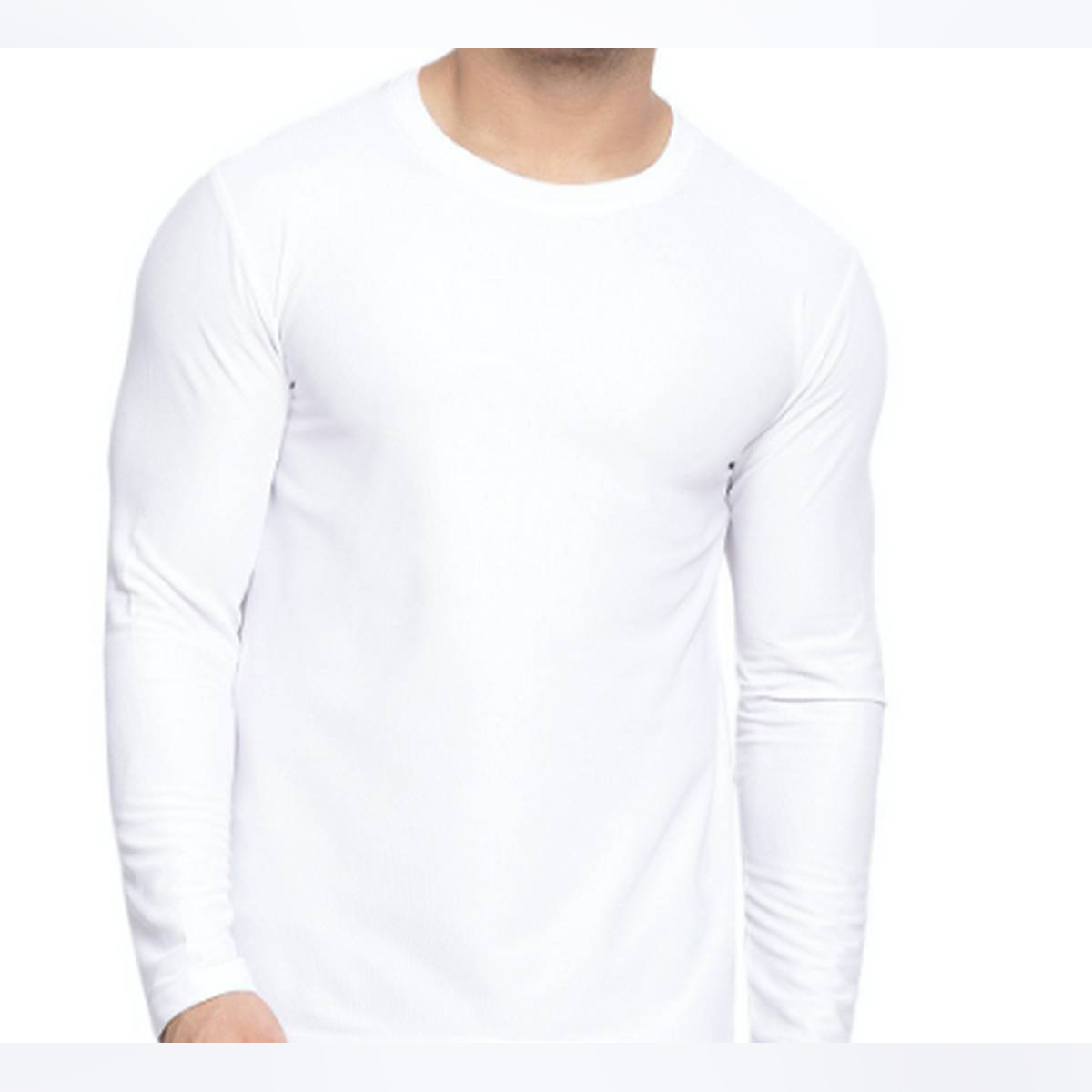 Hinz Men's Essential Round Neck (Full Sleeves) Combed Yarn