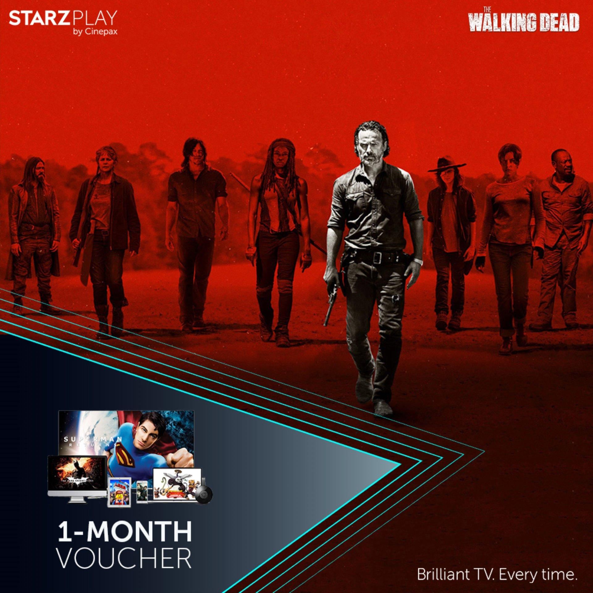 STARZ PLAY by Cinepax 1 Month Subscription Voucher