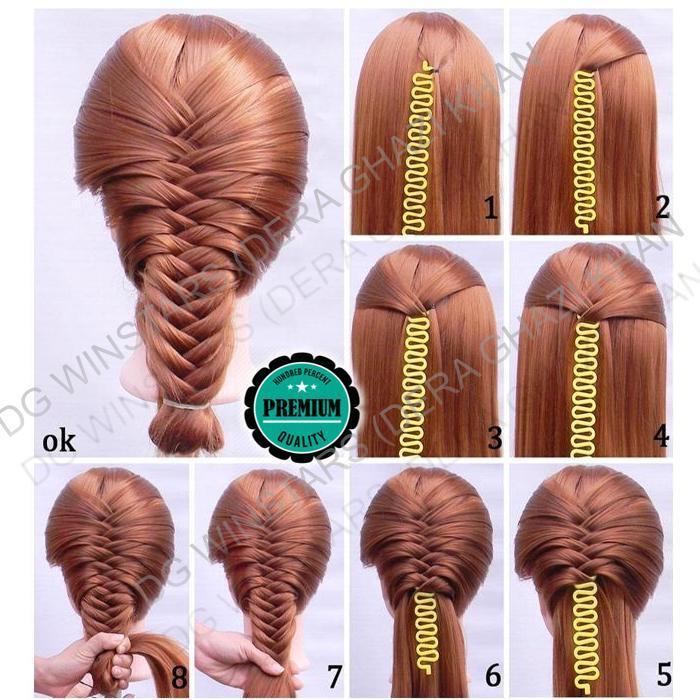 1 Set Hair Styling Accessories Tools Kit Hair Makeup Tool Kits Hair Braid 6O