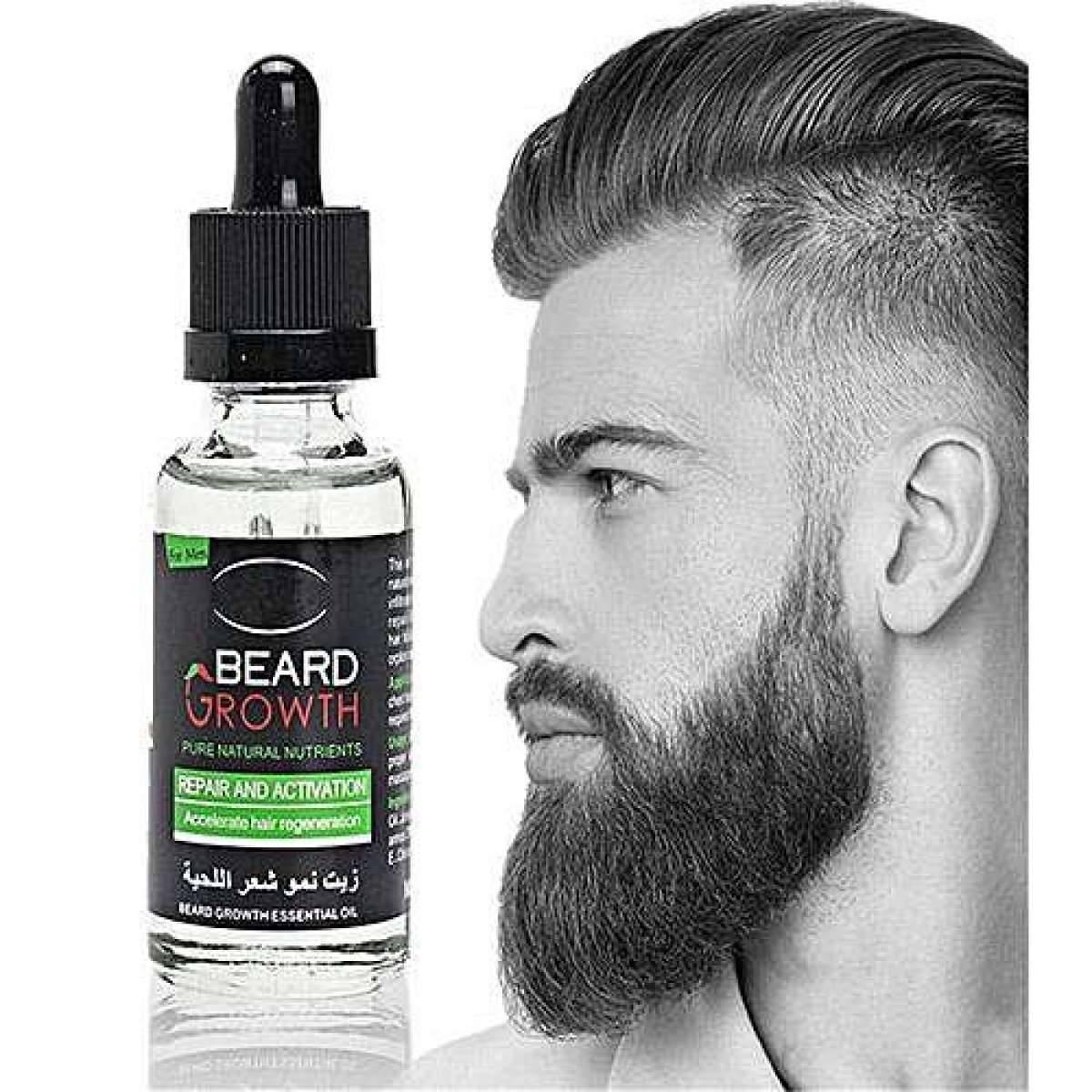 Beard Growth Esential Oil Enhance Facial beard Nutrition