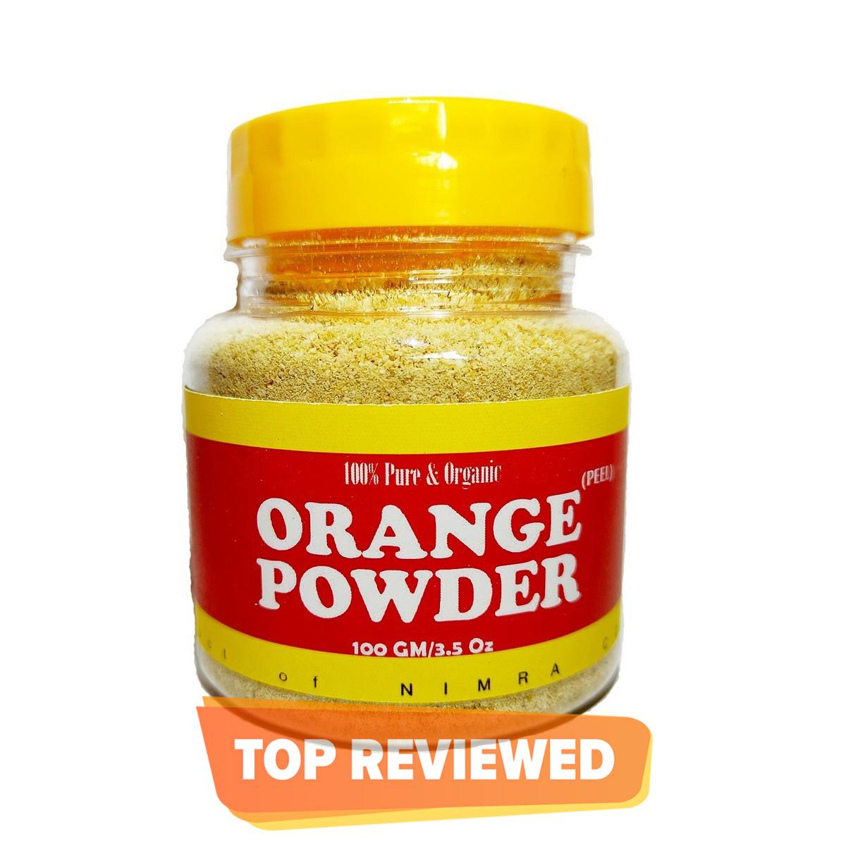 Orange peel powder 100 grams  Organic Orange Powder  100% Pure, Natural and Herbal Product for skincare