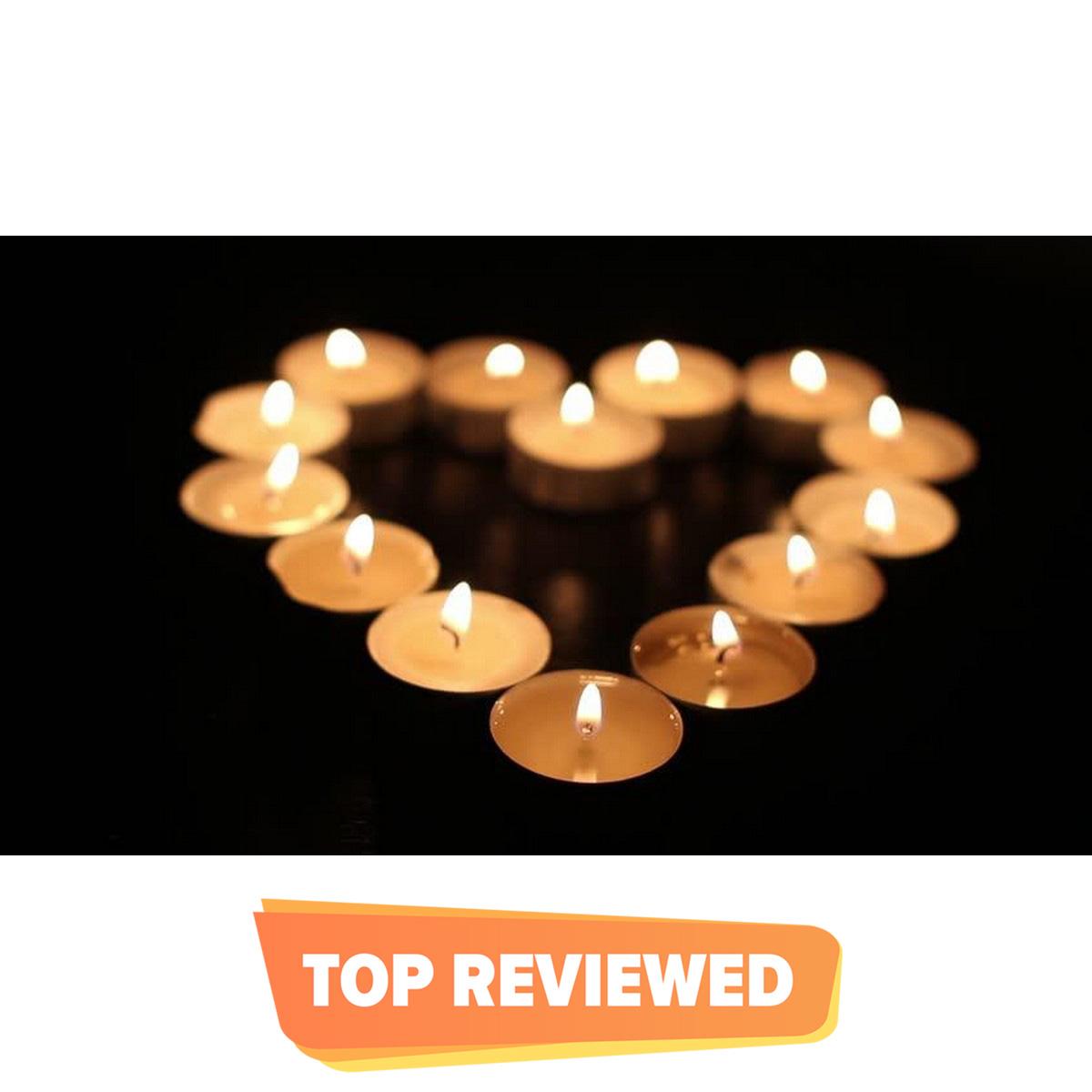 Romantic Tea Light Floating Home Decoration Candle 10 Pieces/Set