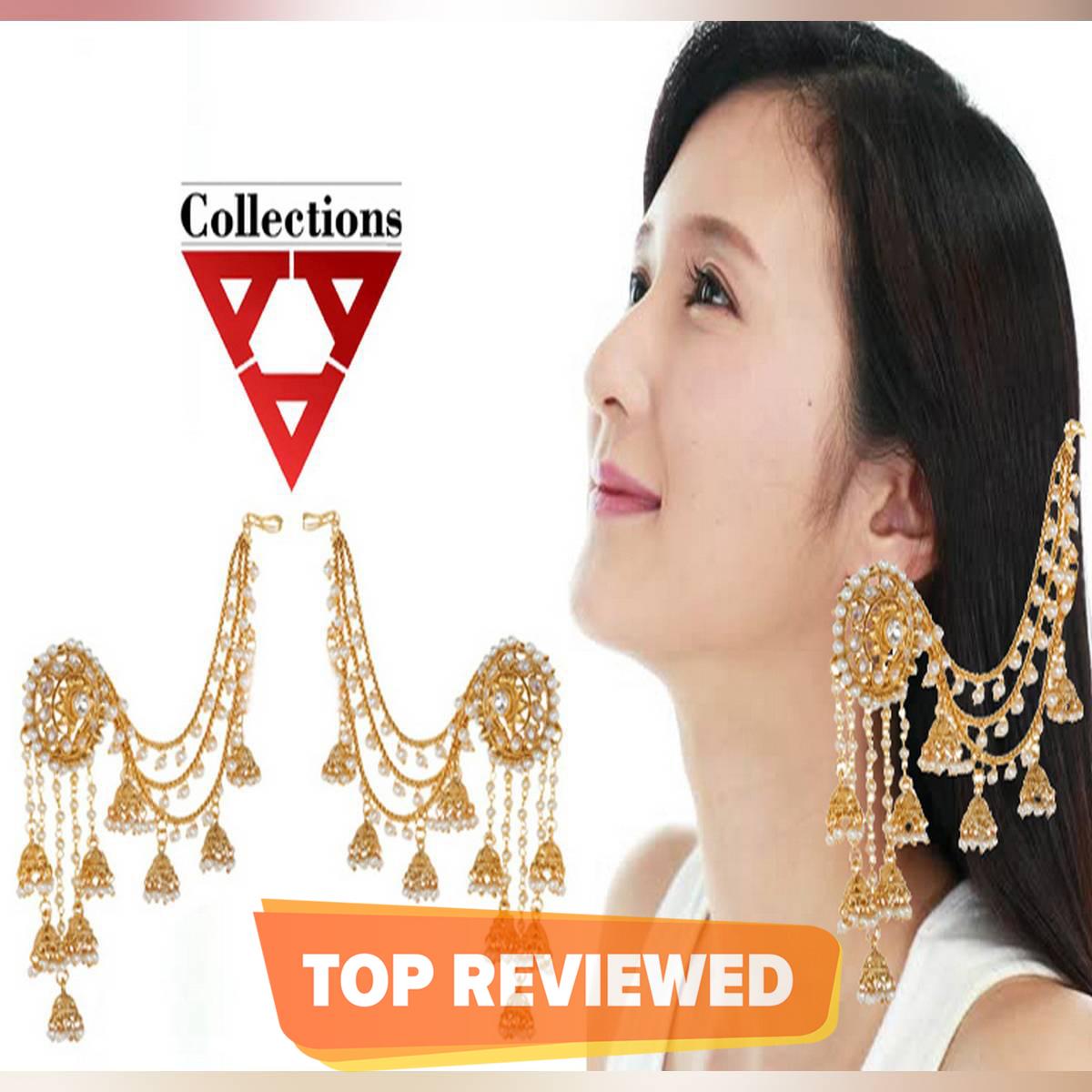 Bahubali Jhumka Earings For Women