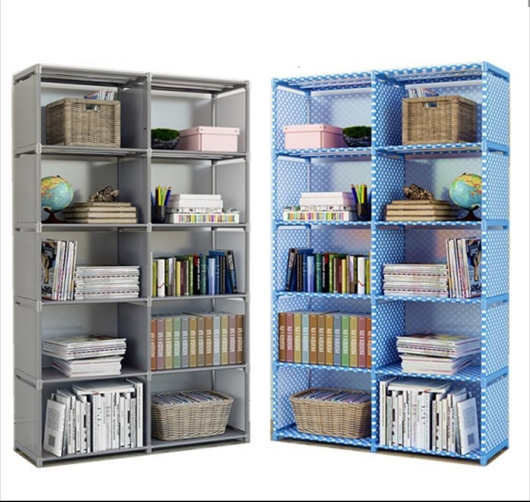 Books Rack Multi Layers Portable New Simple And Modern Bookcase