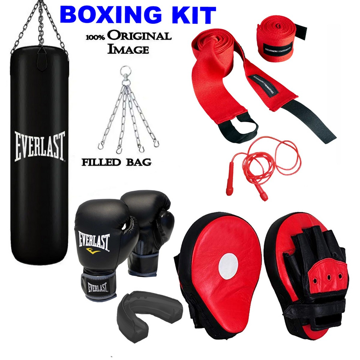 Boxing kit set for adults