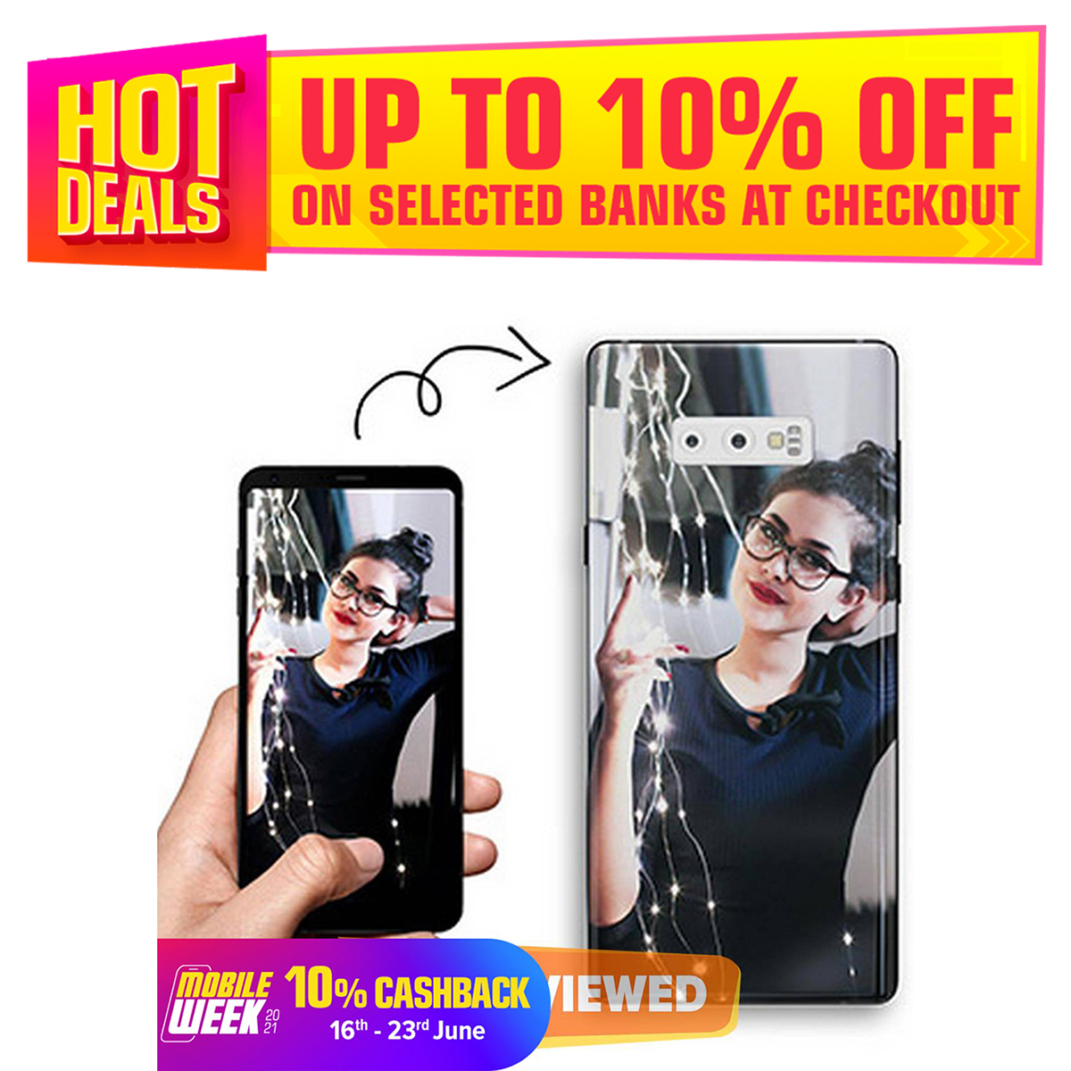Customized Image Phone Cover With Your Choice Photo