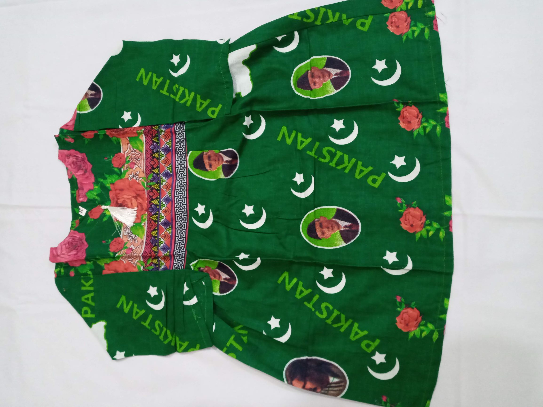14 August Printed Lawn For Girls