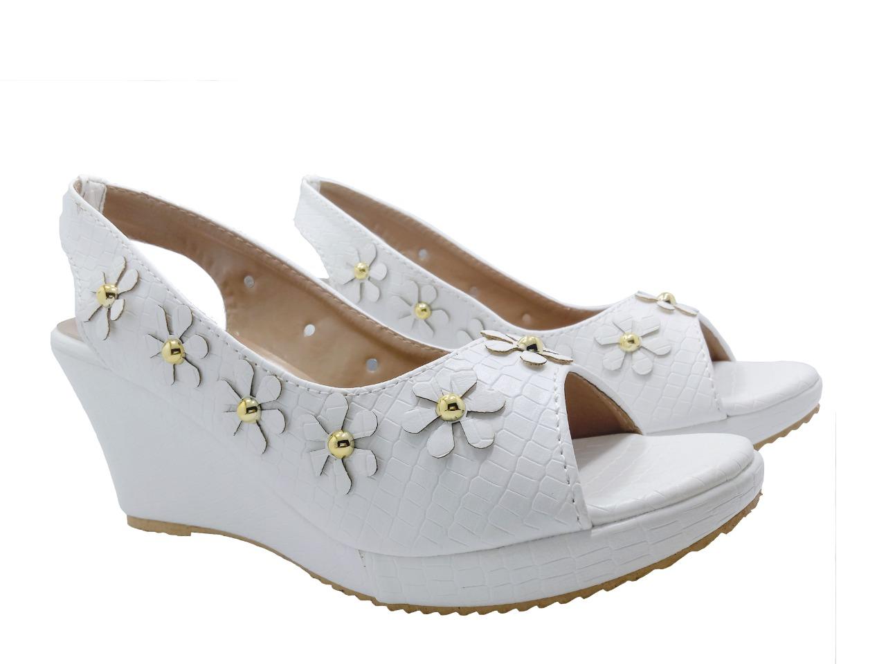 Women Fashion Wedge Shoes Sandal Party Wear Casual Wear Wedding Wear