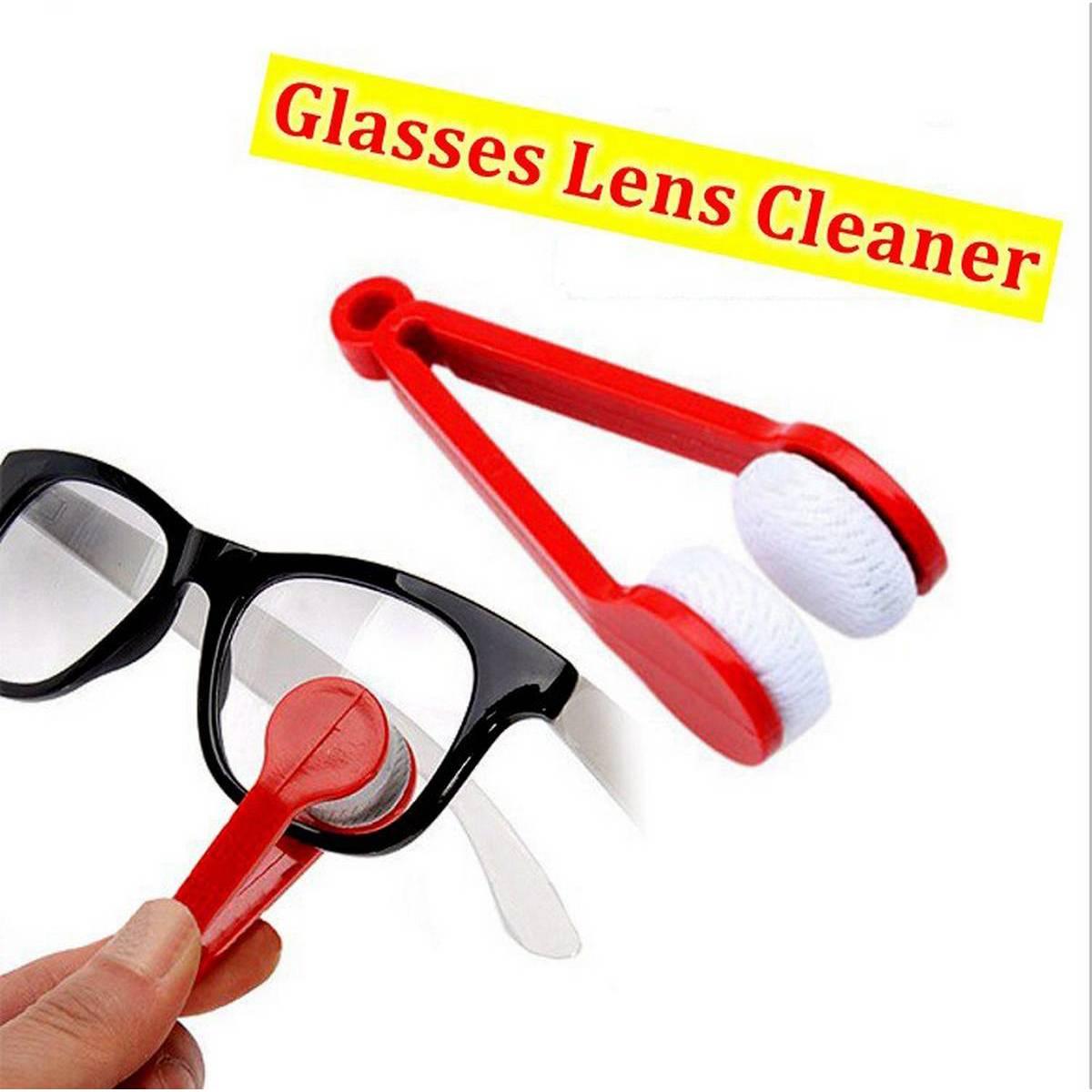 New Mini Eyeglass Cleaning Cloth Multifunctional Portable Super Soft Eyeglass Cleaning Cloth Double-sided Microfiber Eyeglass Brush