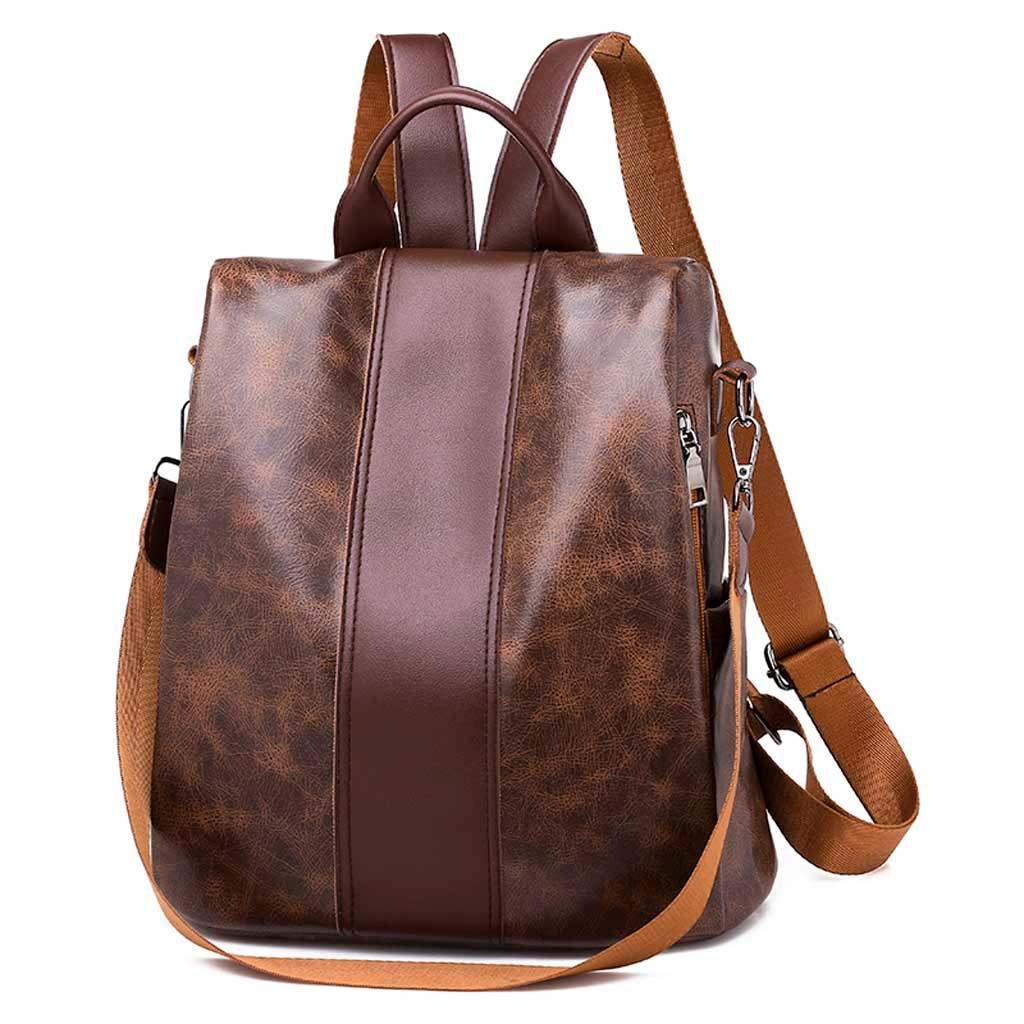 Perfect Meet Fashion Women S Fashion Solid Color Backpack