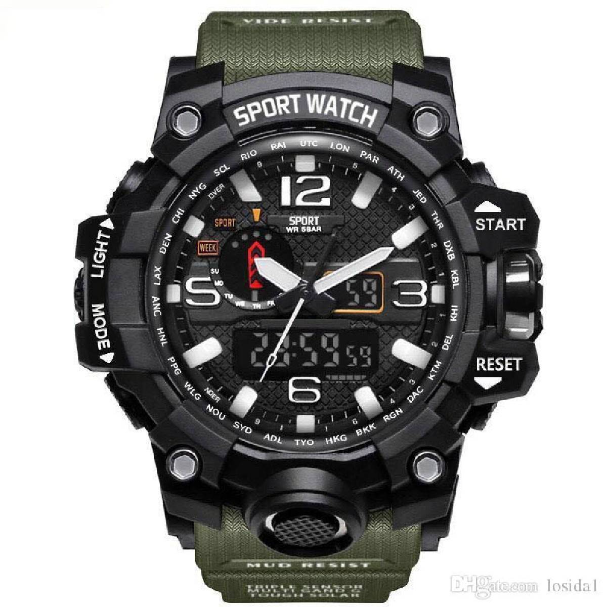 Mens Watches 2020. Hot Sale Fashion Watch Men G Style Waterproof.. Sports Military Watches Shock Luxury Analog Digital Sports Watches