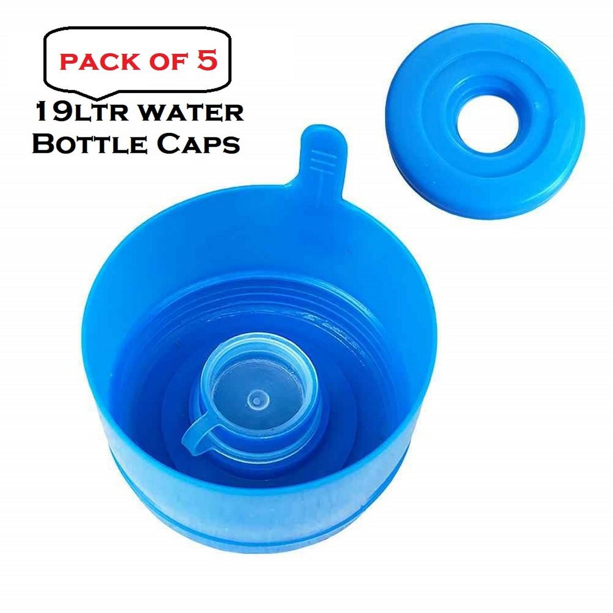 5 pcs Jug Caps Pure Water Mineral Water Bucket Lid Non Spill Anti Splash Water Dispenser Cap Water Bottle Seal Lid