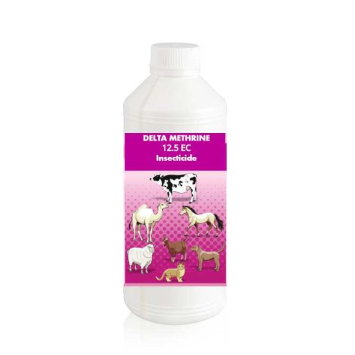 Delta Methrine 12.5 EC Insecticide 1 ml in 1 litre of water and spray at Cattle , poultry farm , farm