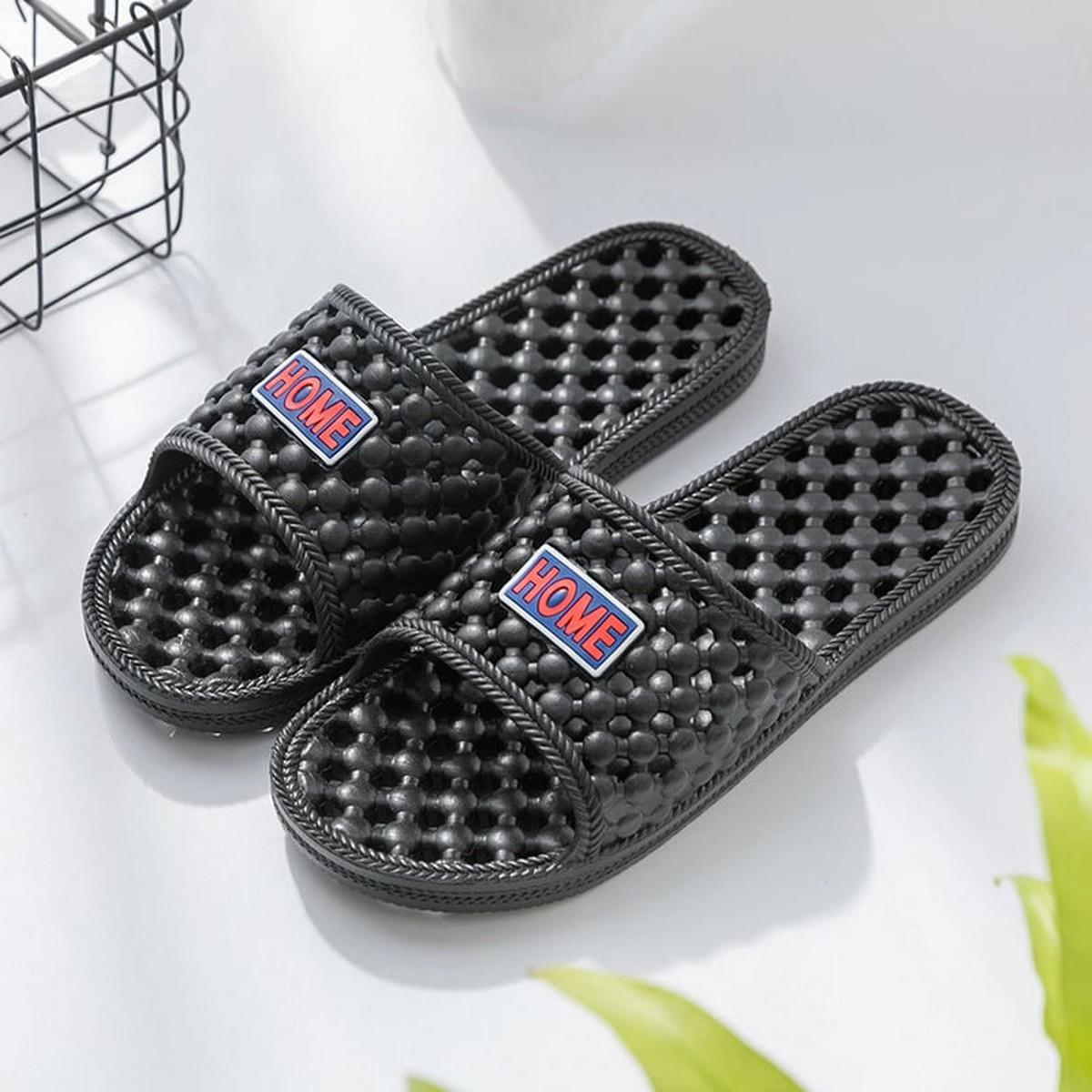 Bathroom Shower Slipper Non-Slip Bubble Spa Massage Shoes Household Sandal