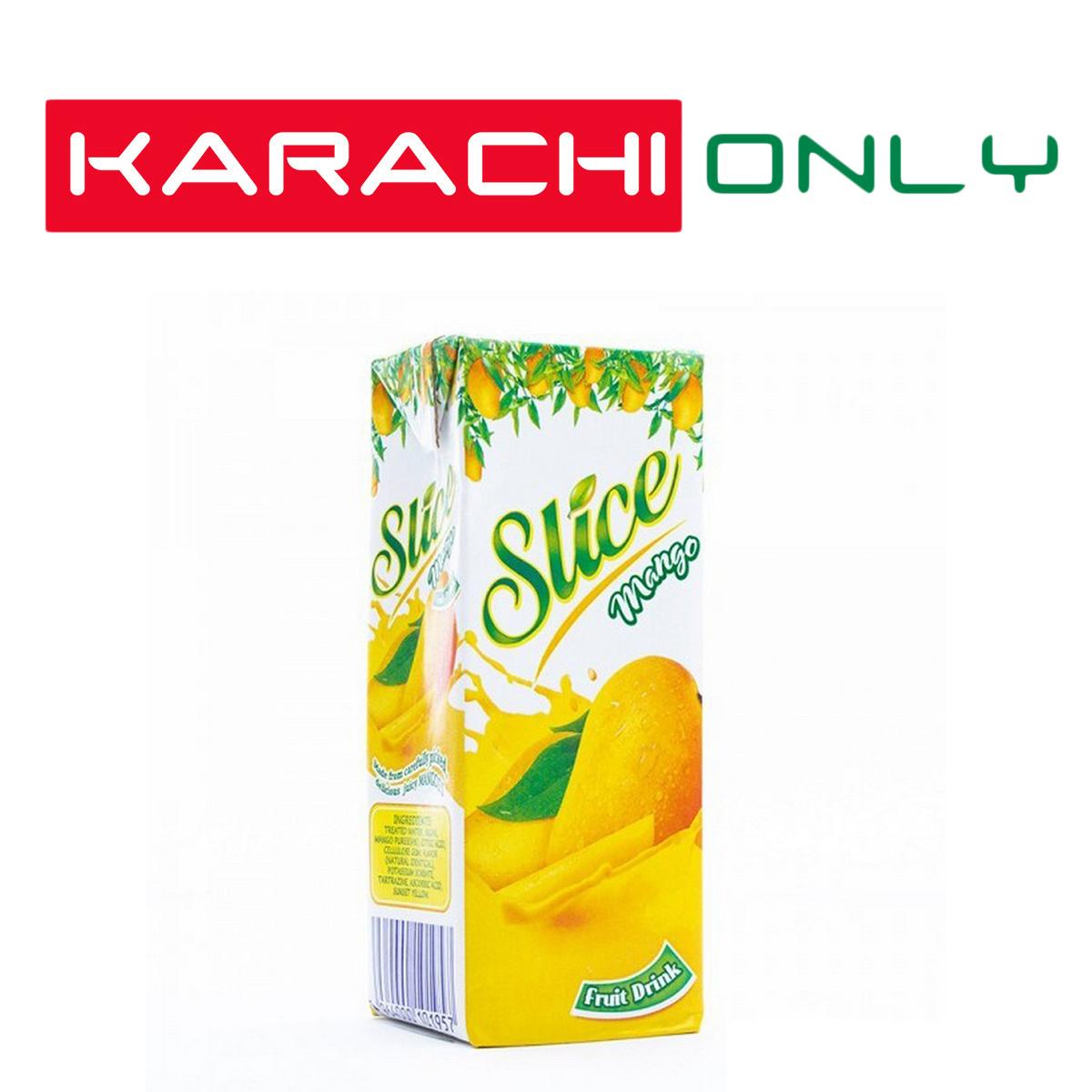 Slice Tetra Pack Mango - 200 Ml