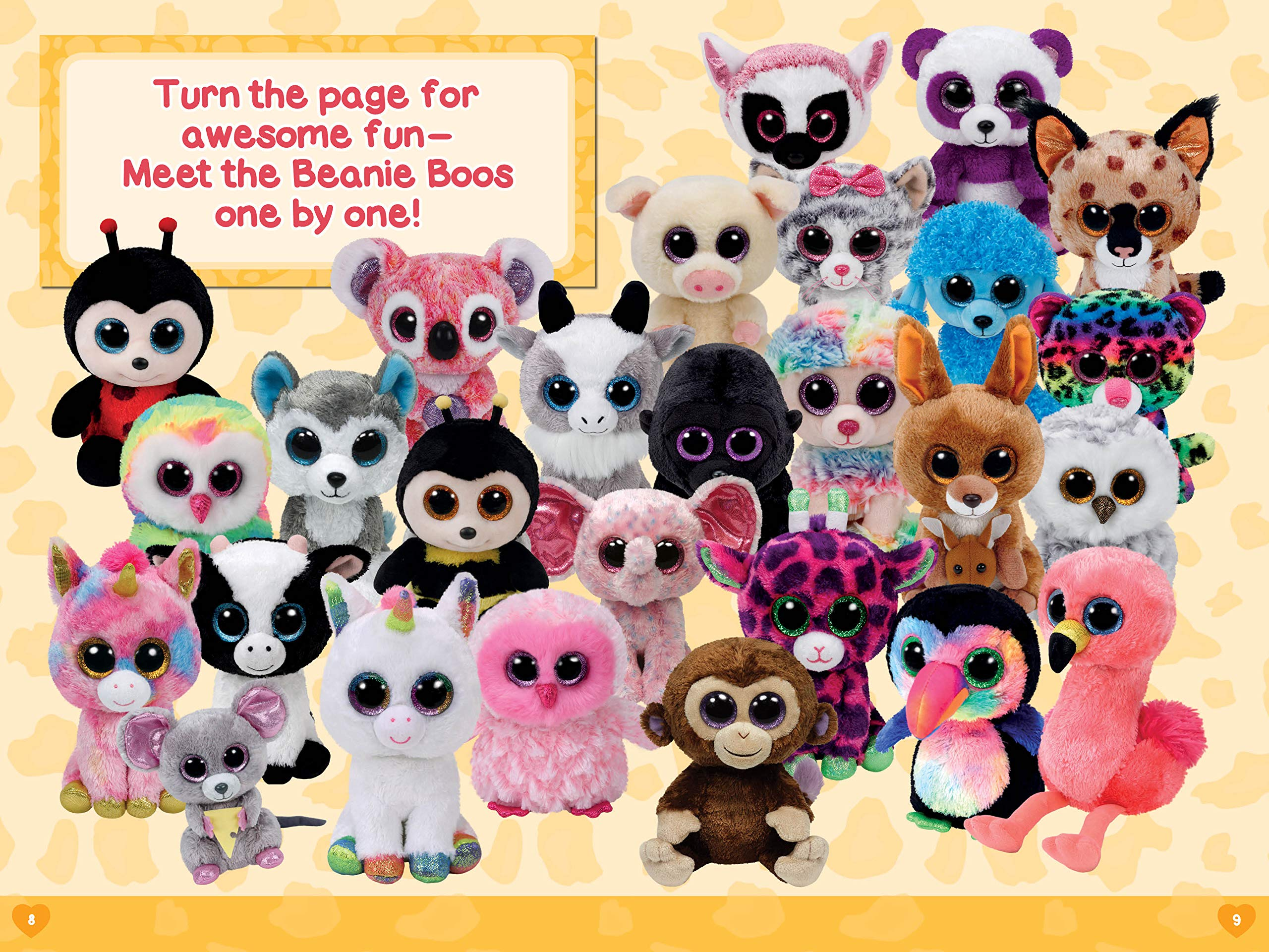 TY Beanie Boos Babies Soft Animals Plush Toys For Kids (6 inches 15 cm)