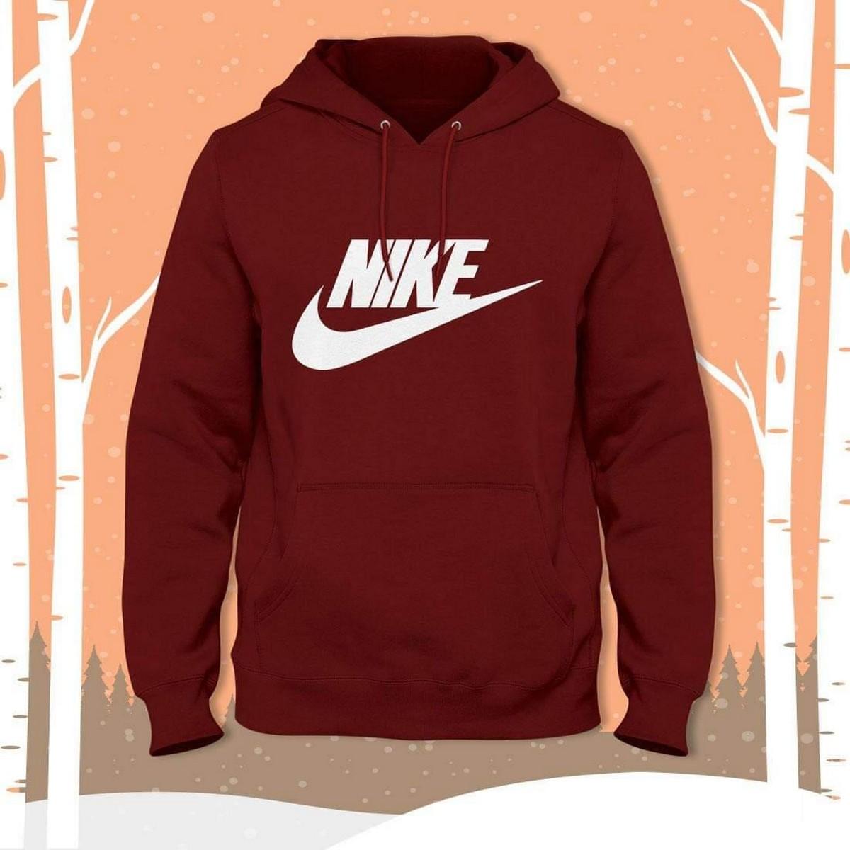Winter Sweatshirt Fleece Hoodie Sweat Shirt O-Neck Full Sleeves Tee Shirt Round Neck TShirt Casual Tshirt For Men & Women