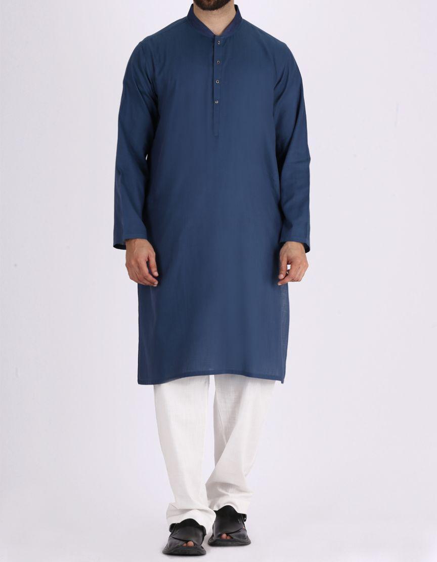 bd009360ff Junaid Jamshed Summer Collection 2019 EMERALD GREEN Cotton Men's Kurta