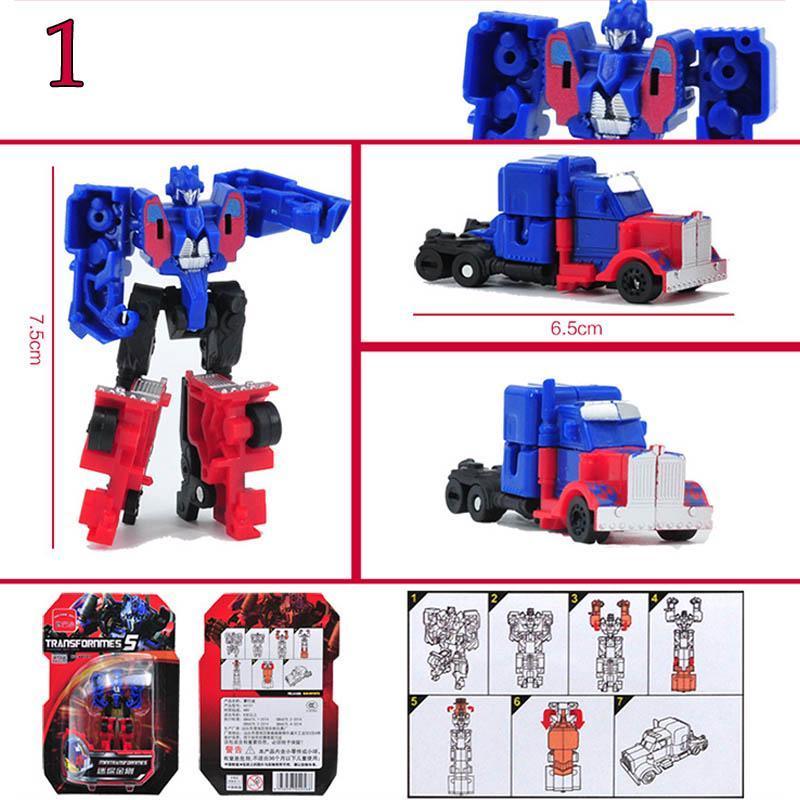 Transformers Toys Cars 7pcs//lot Kids Classic Robot Set For Children Action Toys