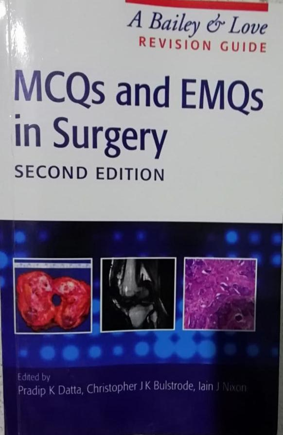 MCQs and EMQs in Surgery [A Bailey & Love] (2nd Edition) in Pakistan