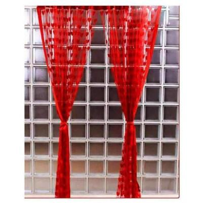 Red Wire String Blinds Curtain