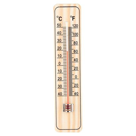 1Pc Wood Thermometers Practical Garden Office Garage Indoor Temperature Logger Wall-Mounted Direct Reading Type High Quality