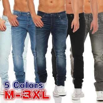f668c87a81 Pack of 5 - Mens Fine Quality Regular Fit Jeans for Casual Wear - ARA-