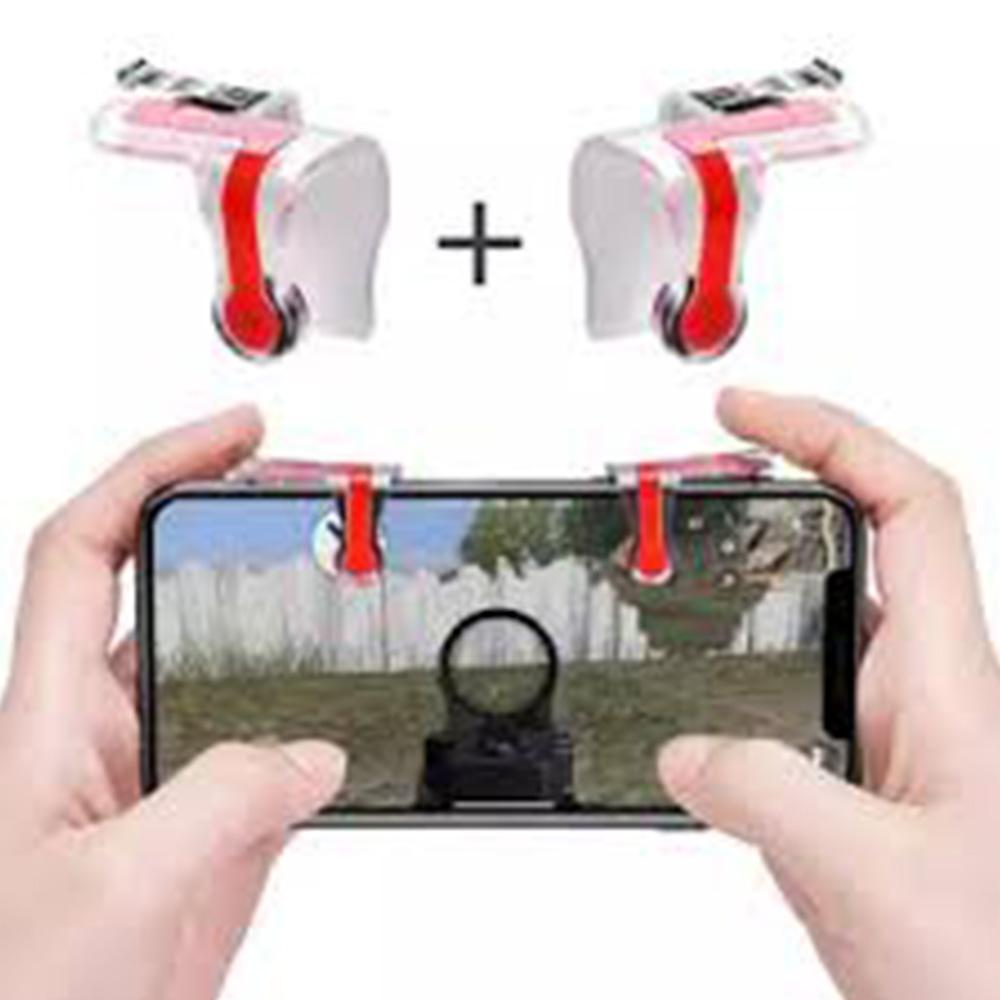 Smartphone Mobile Gaming Trigger L1 R1 Button Game Shooter Controller PUBG Version 5.0 with Latest Sensor