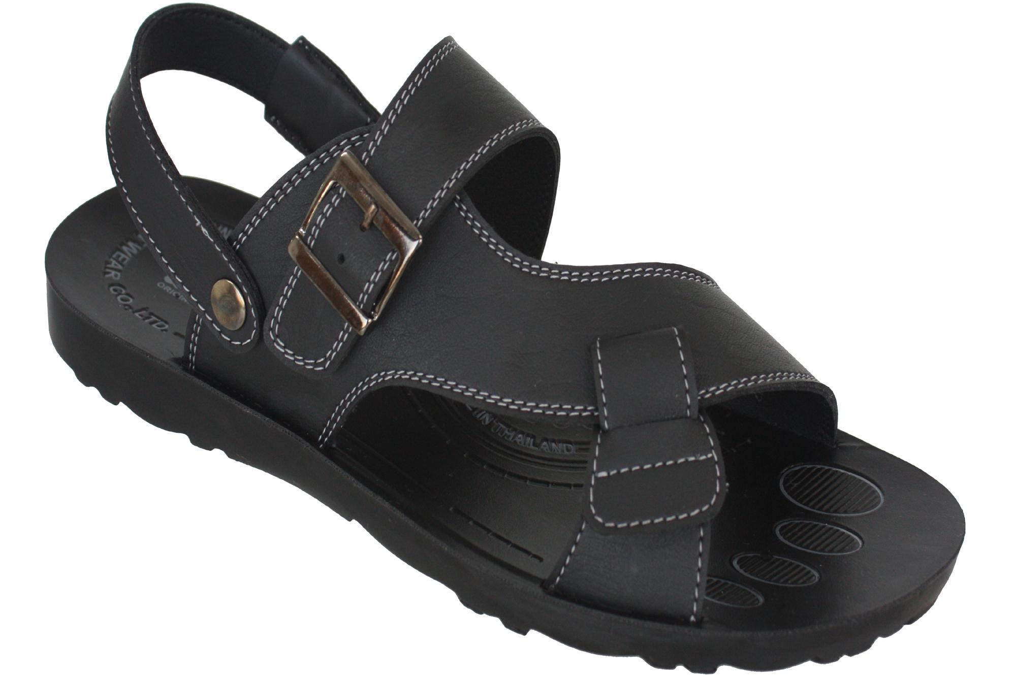 Aerosoft Synthetic Leather Sandals For Men P0110