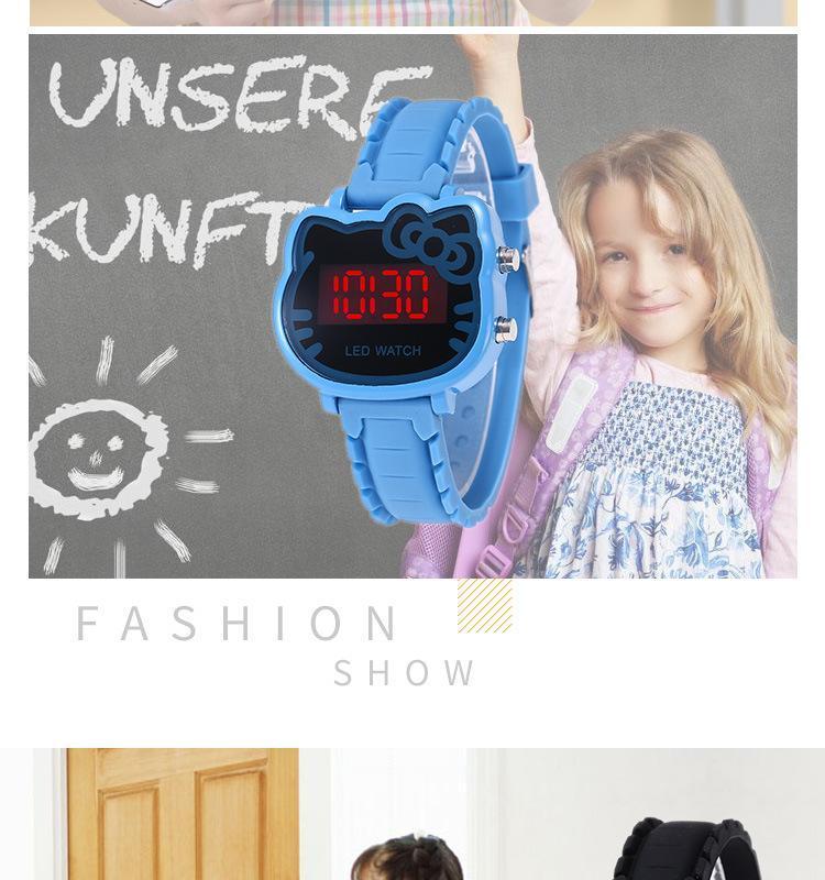 abcc6d03c Specifications of Hello Kitty Watch Women Led Digital Cartoon Wrist Watches  Children Girls Casual Women's Clock FWKI 02