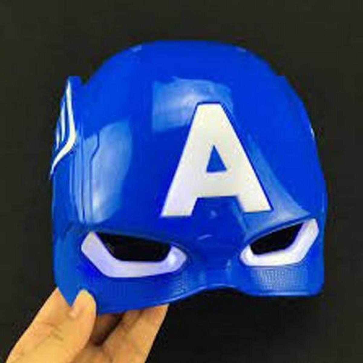 Super Hero Captain America Toy Light Mask