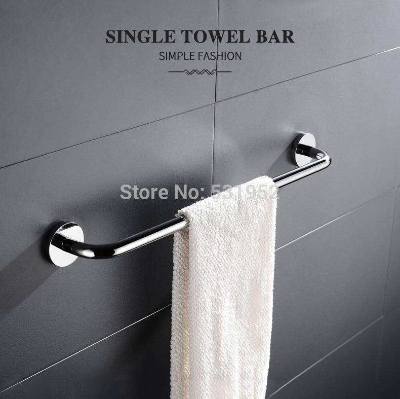 Single Towel Bar Wall Mounted Towel Rack High Quality Stainless Steel Tower Holder Towel Rail Towel Rack Bathroom Accessor Buy Online At Best Prices In Pakistan Daraz Pk