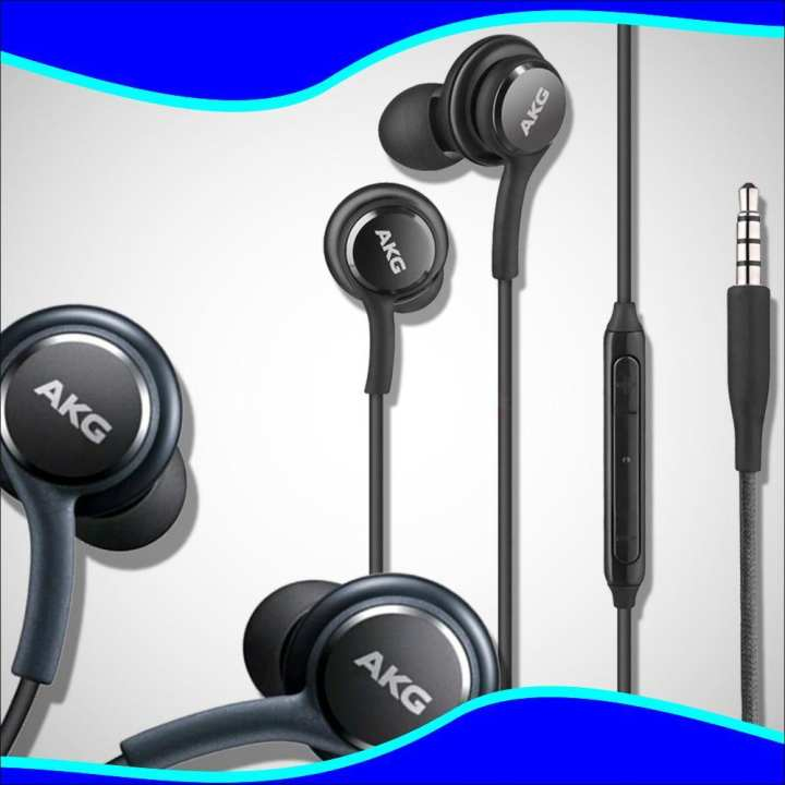 AKG Earphones/Handsfree - For Samsung Galaxy S8, S8+, Note8 Handfree Tuned By AKG - Titanium Grey