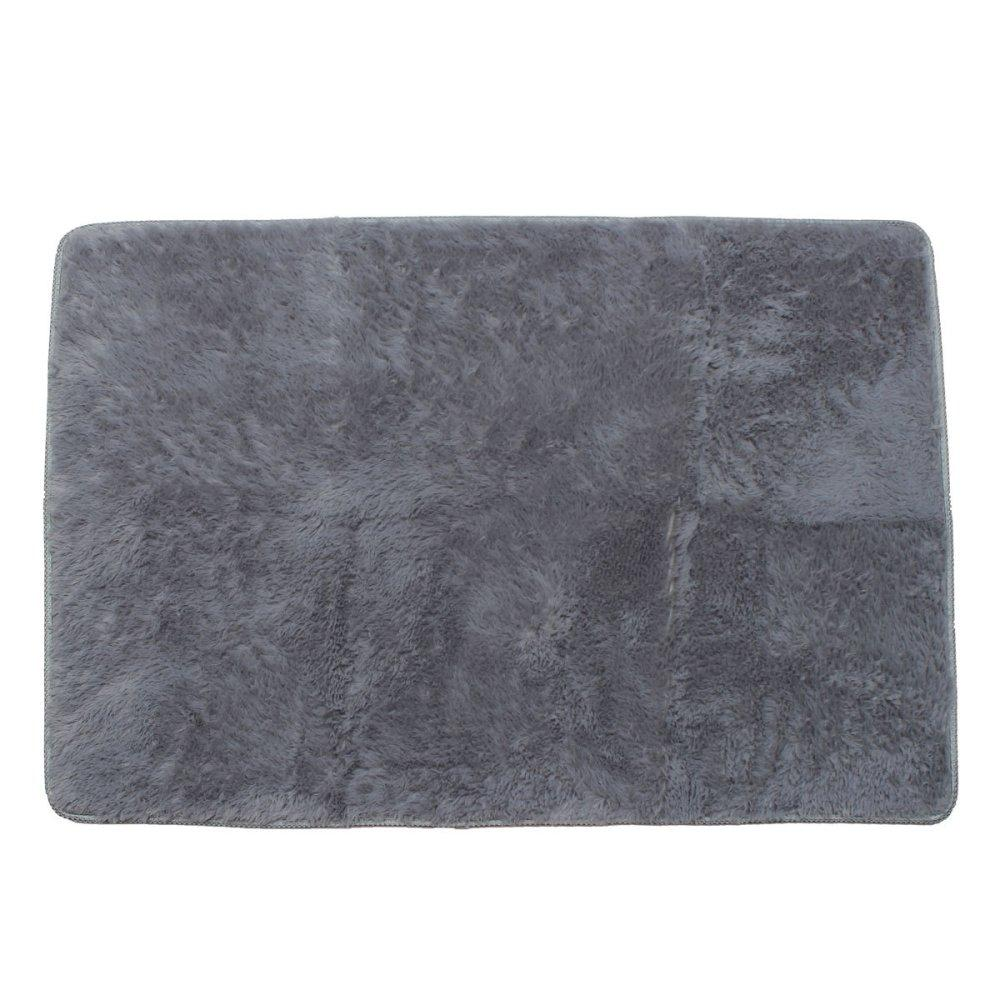 Shaggy Anti-skid Carpets Rugs Floor Mat/Cover 80x120cm (Grey) (MY): Buy Online at Best Prices in Pakistan | Daraz.pk