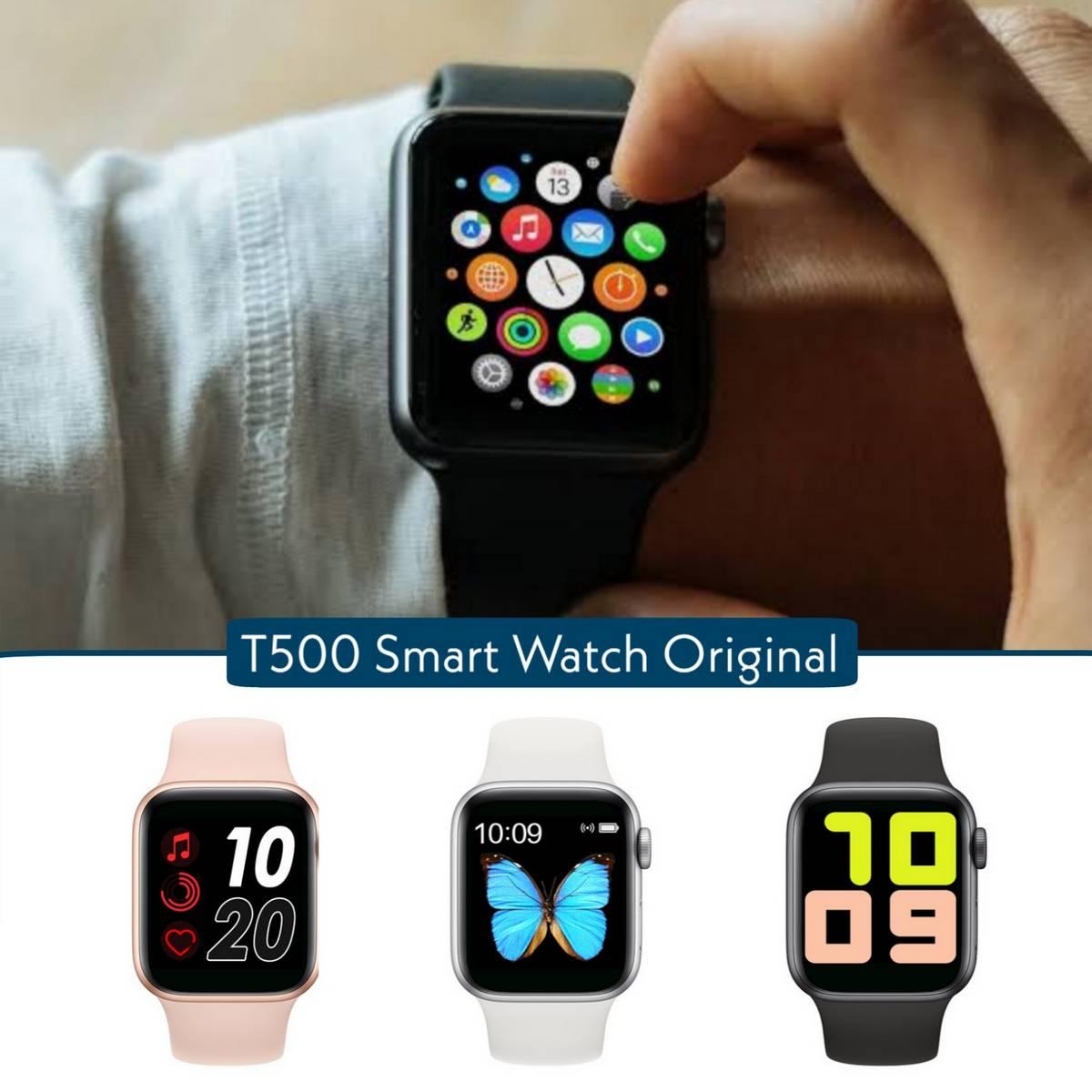 T500 Bluetooth Smart Watch Bluetooth call Player Fitness Tracking Smartwatch