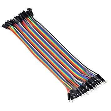 40P Male to Female Jumper Wires for Arduino