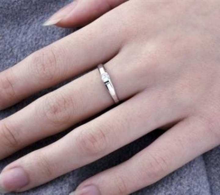 Sterling Silver Korean Couple Ring For Girls and Men