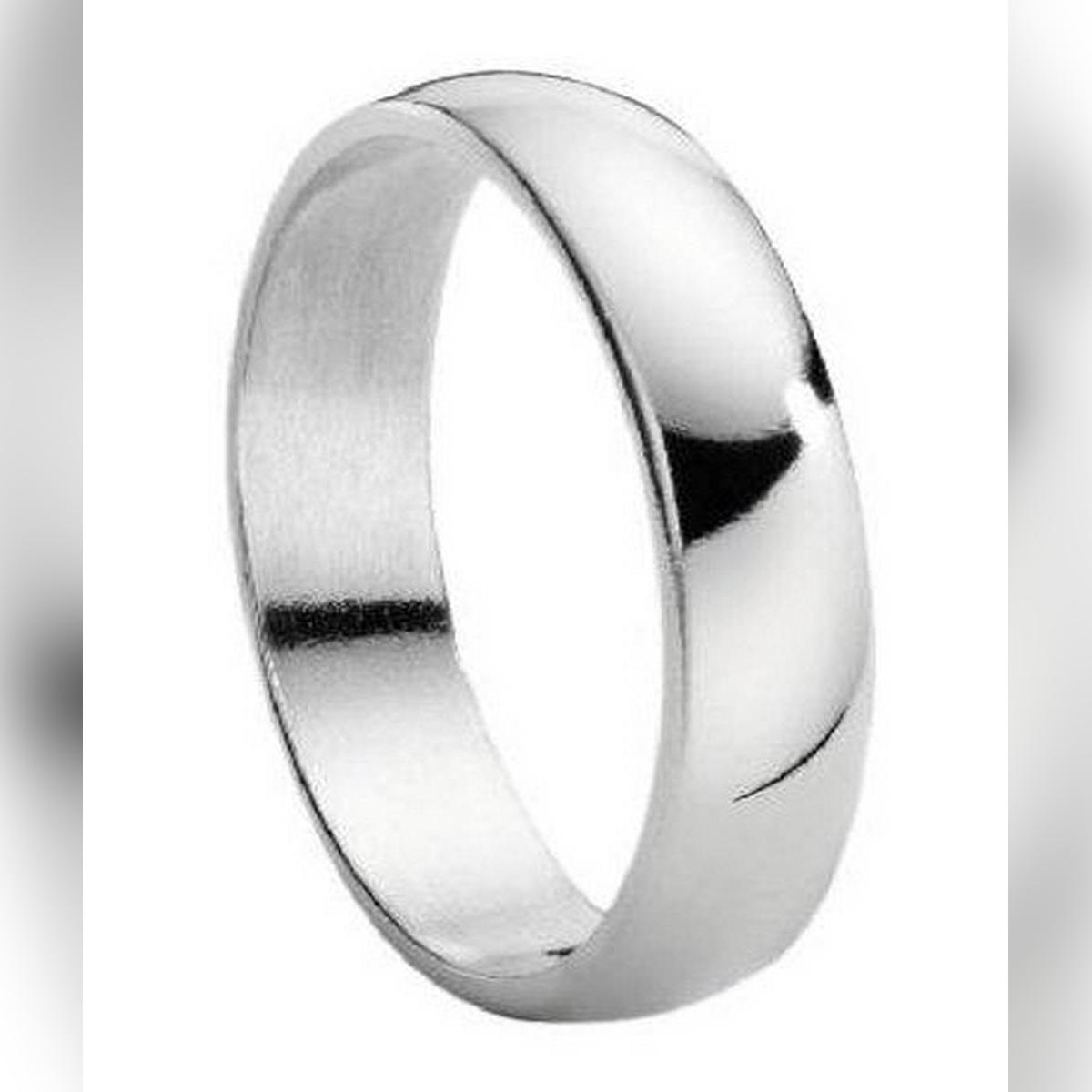 Silver Steel Ring for Men & Women