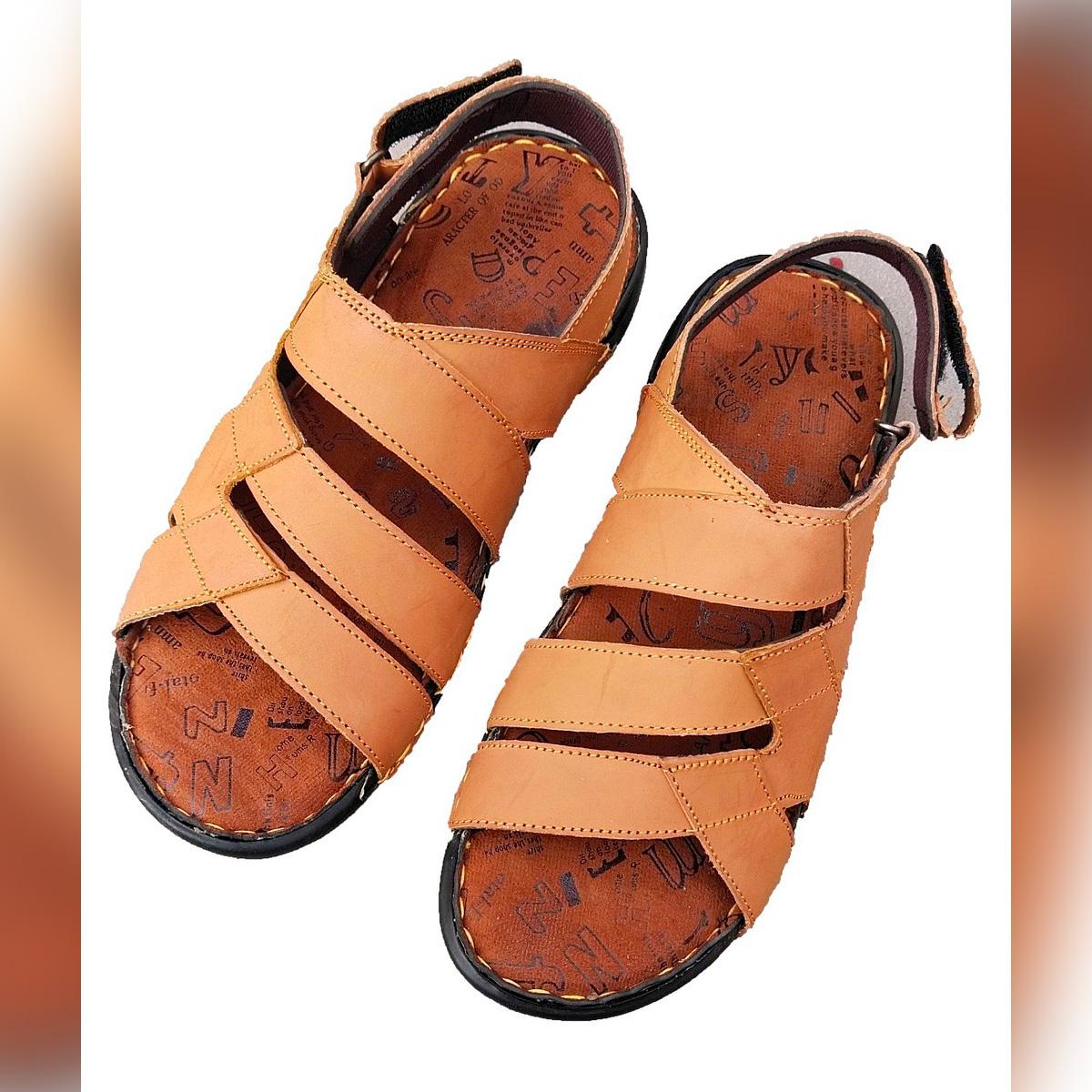 Easy Leather Sandal for Men - V.S