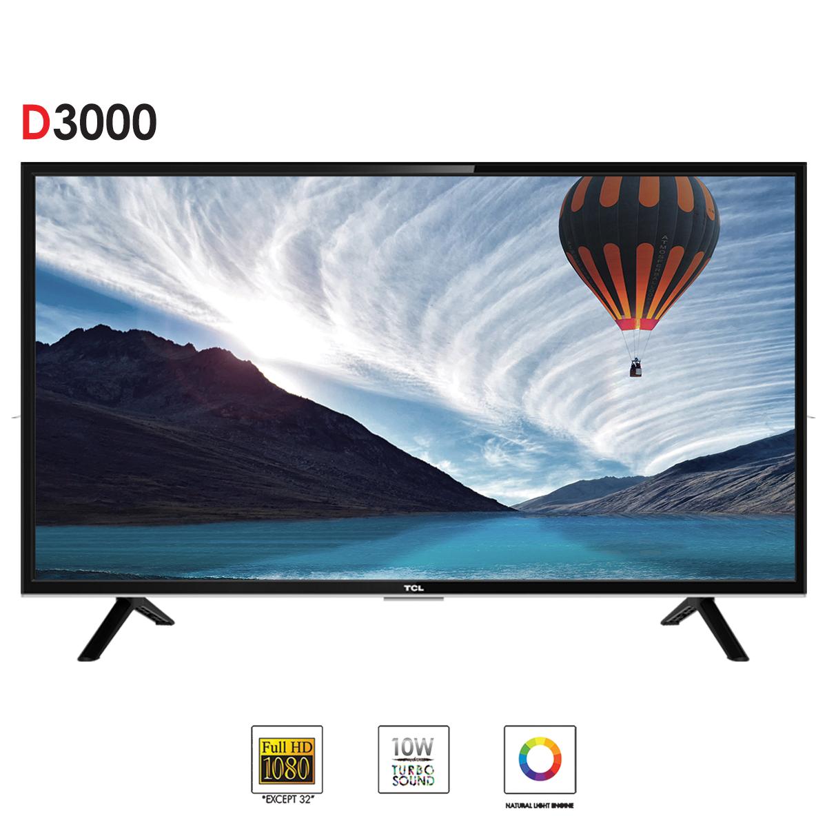 TCL D3000 40  Full HD LED TV - Black
