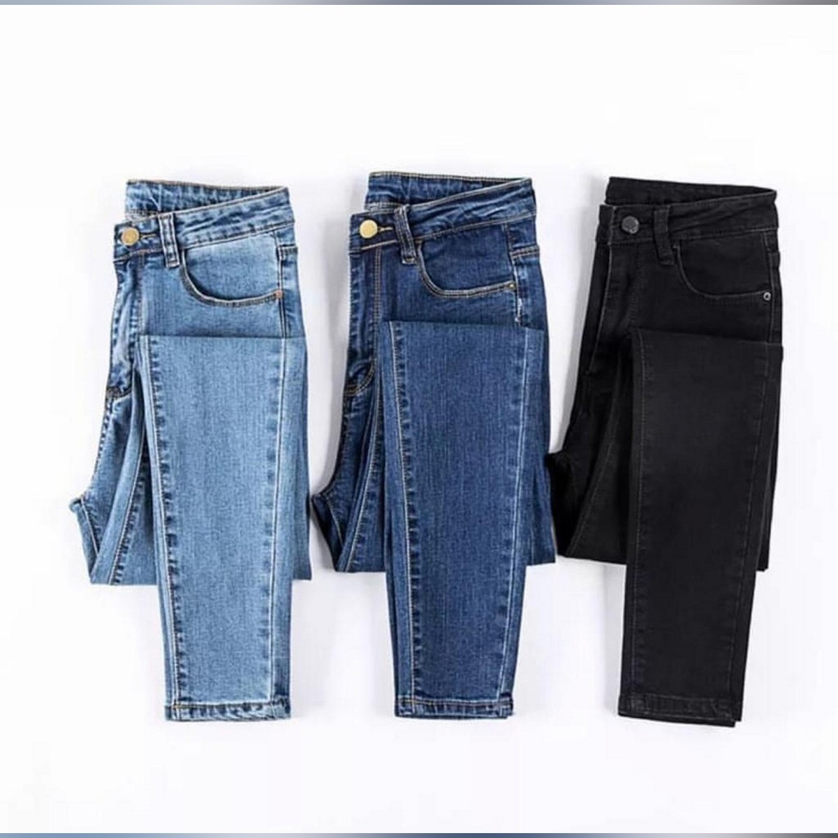 PENTS-Fashion,Hot,Ladies Denim Pants Stretch Womens Ripped Skinny High Waist Jeans Denim (EXPORT DENIM)