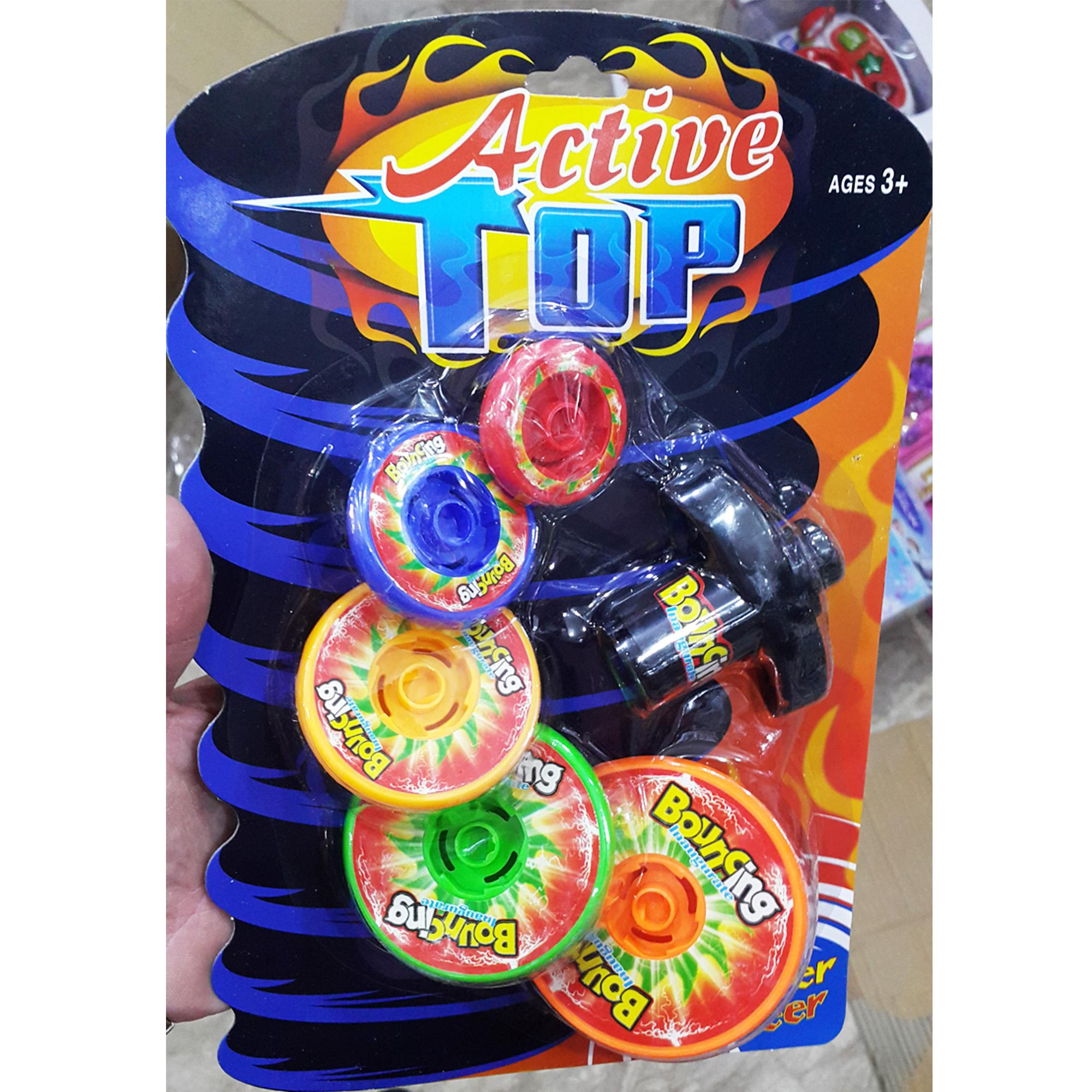 Active Top Set 5 in 1 Multi Colour - TOP