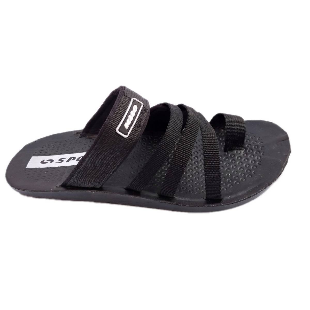 Slippers / Shoes / Sandals for Men -Chappal - Spot slipper -Black-Quality and comfortable