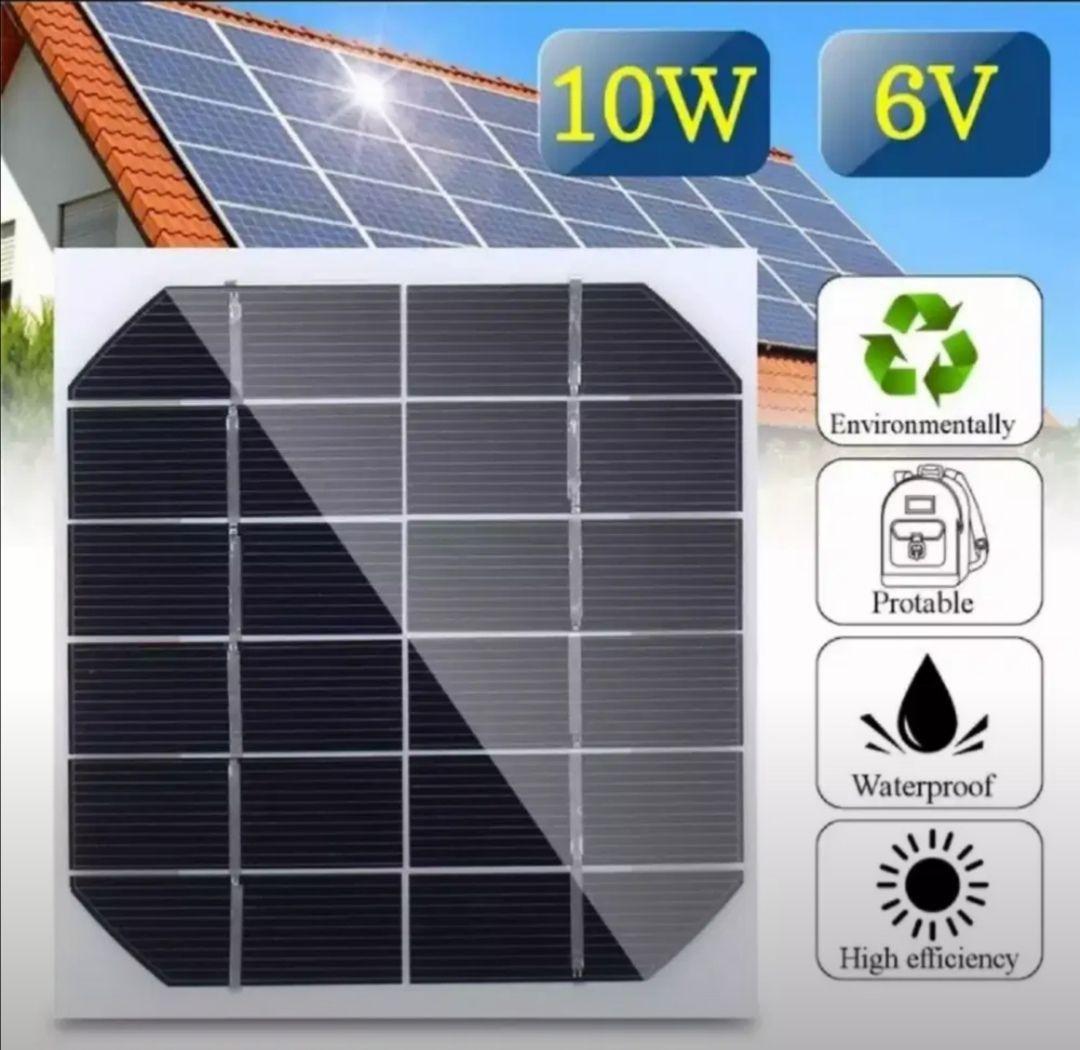 10W 6V Mini Solar Panel Cell Power Module Battery Toys Charger Light DIY