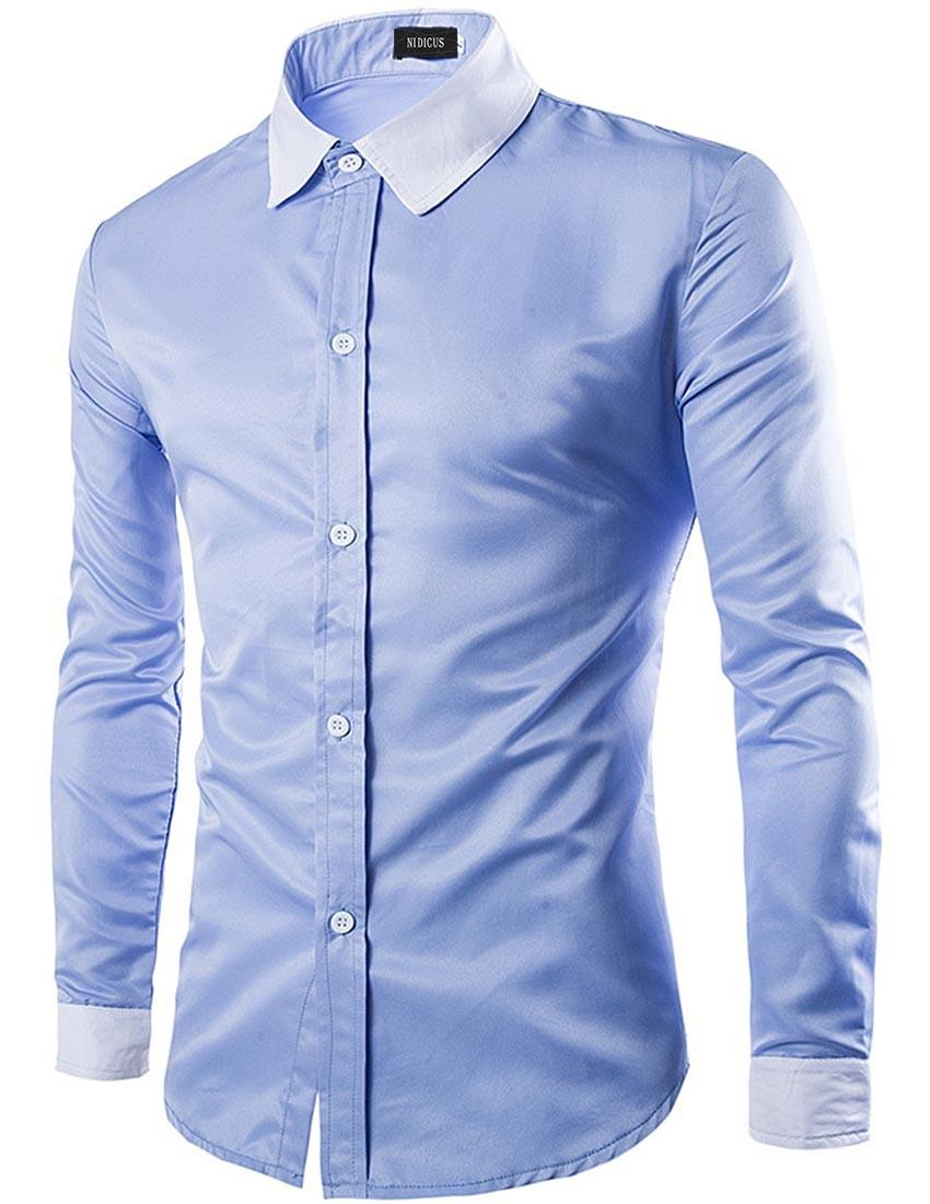 0ca8b133 BRANDED EXPORT Quality Colour Contrast Button Down Cotton Casual Shirt For  men
