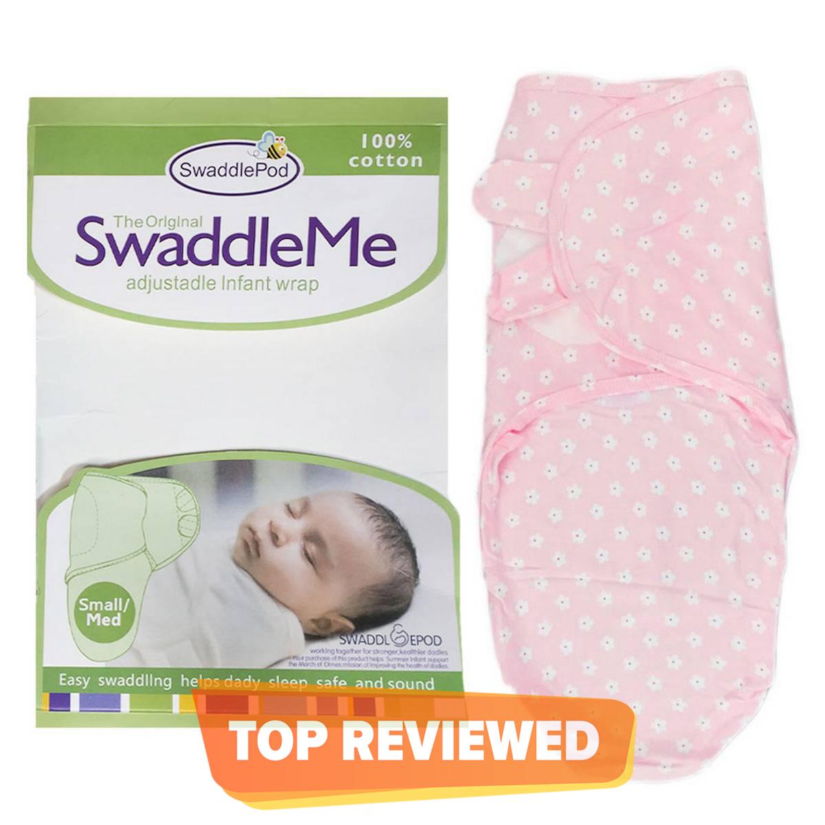 High Quality White Super Soft 100% Cotton SwaddleMe Swaddle Me Ultra Comfort Adjustable Swaddle Infant Baby Wrap - Baby Swaddle Wrap New Born Baby Swaddle Wrap Swaddle Wrapping Sheet Baby Swaddles