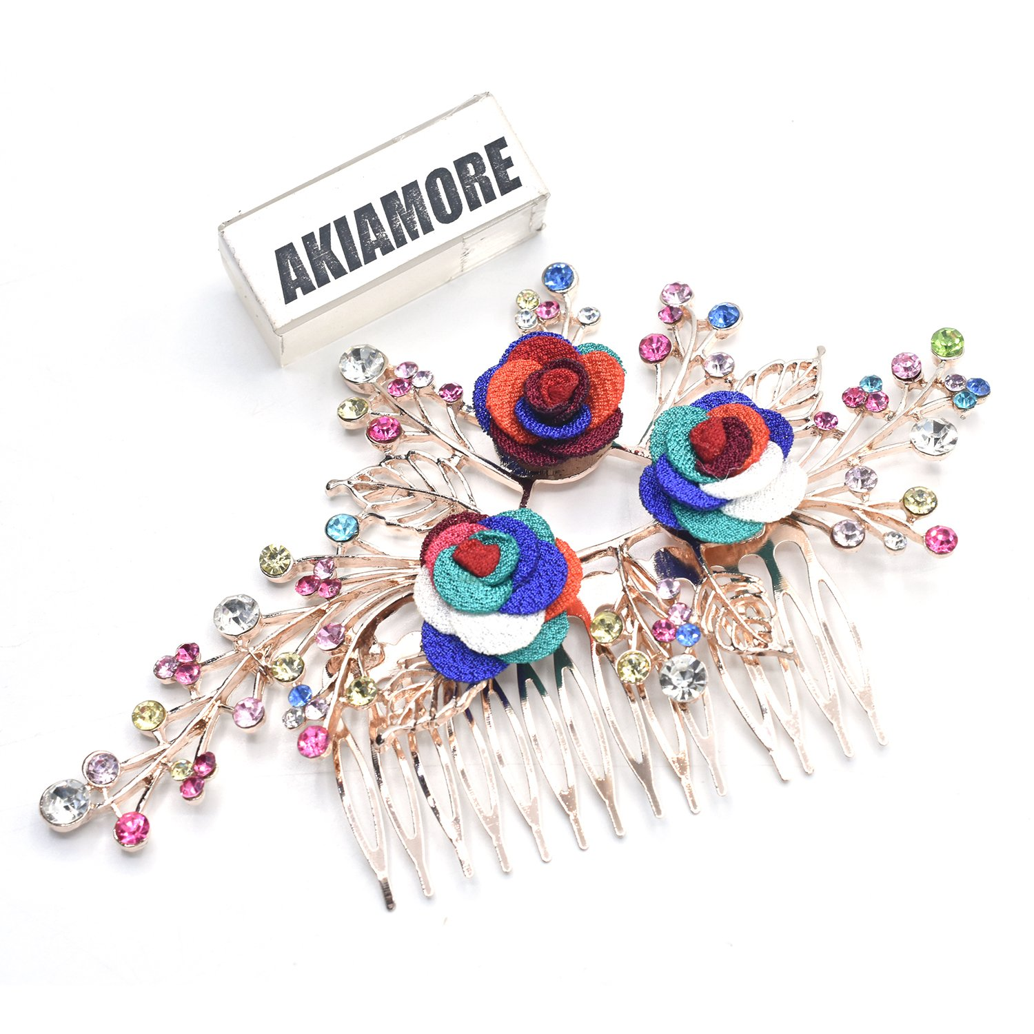 Bridesmaid Jewelry Wedding Bridal Accessories Hair Jewelry Hair Clips