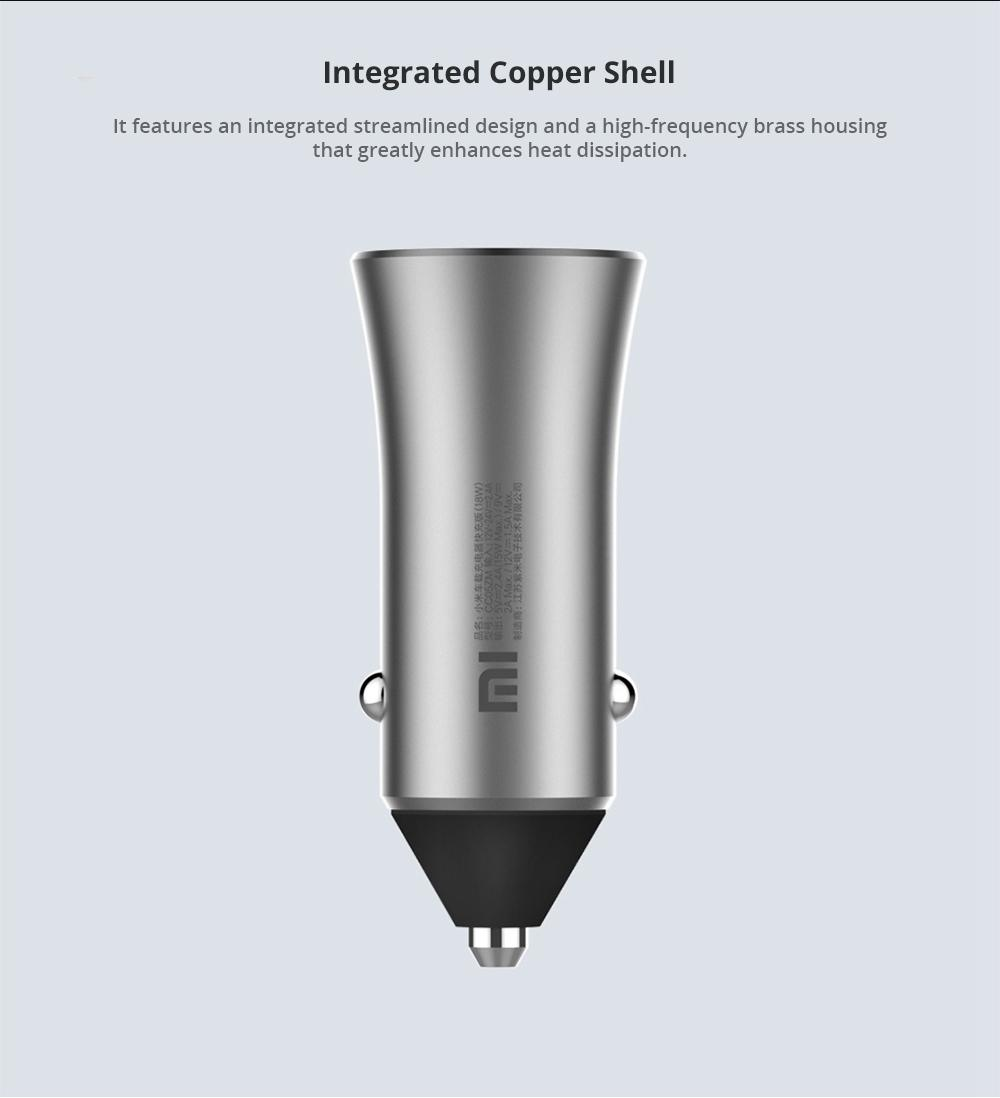 integrated copper shell