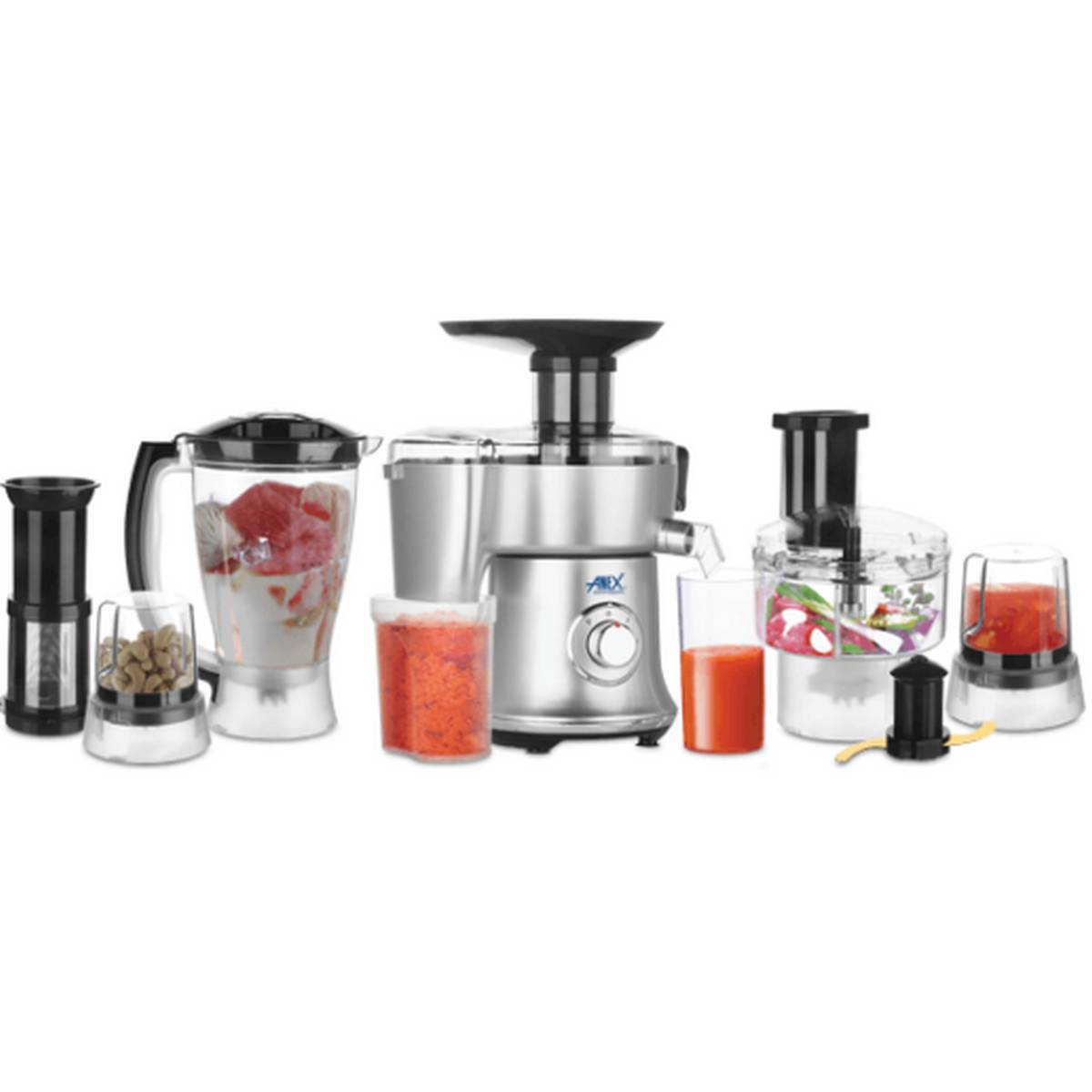 AG-3153EX - Anex Deluxe Kitchen Robot - Unbreakable Jug & Cups