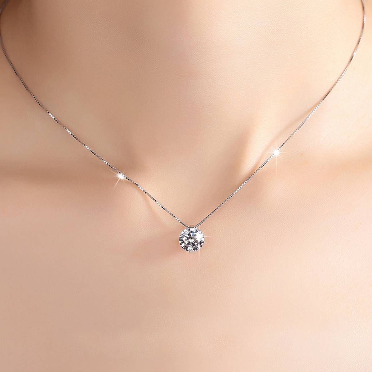 Pendants with chain for girls